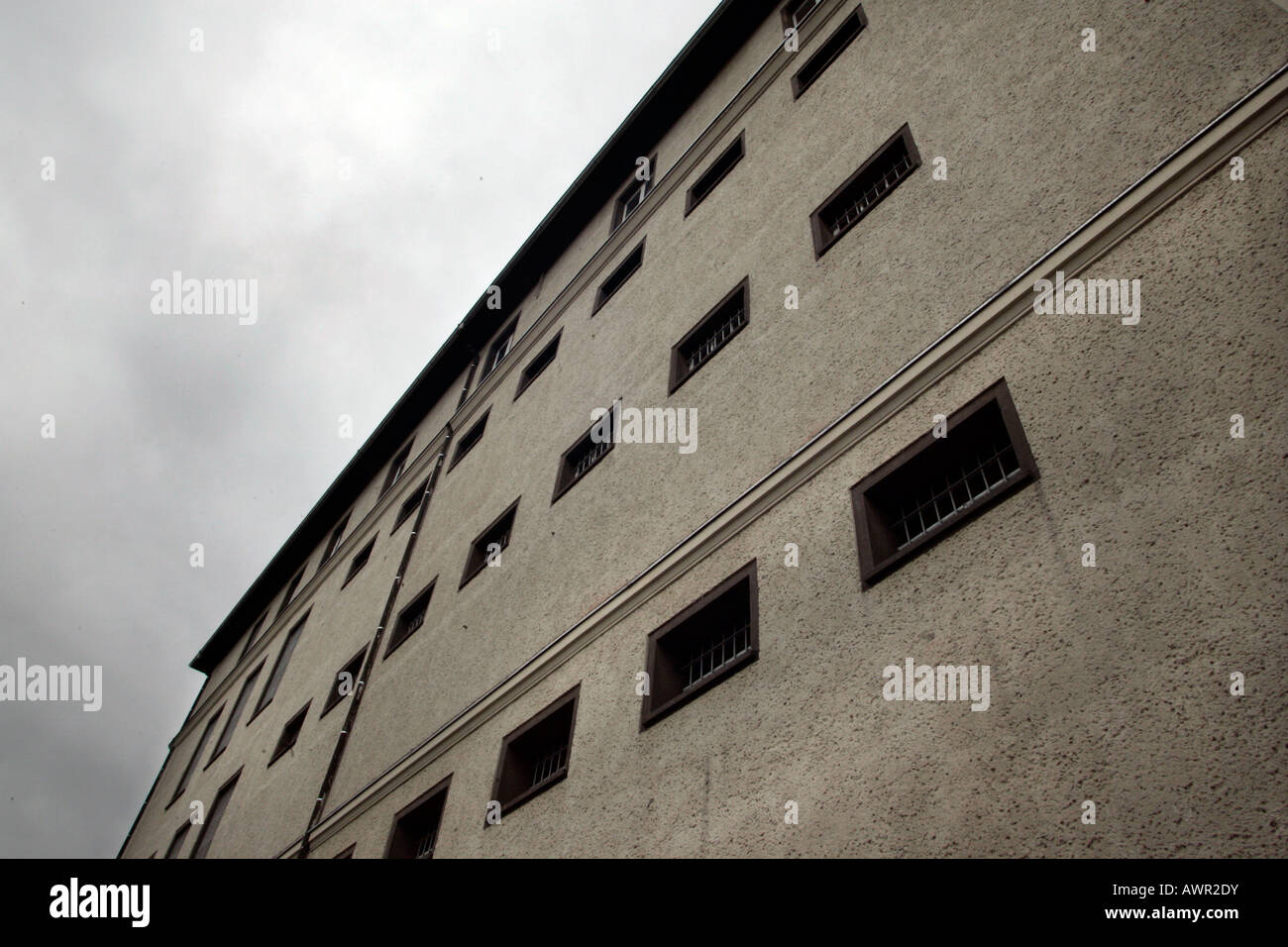 Prison building of the Ministry for public security (MfS, state security service) Dresden, Saxonia, Germany. - Stock Image