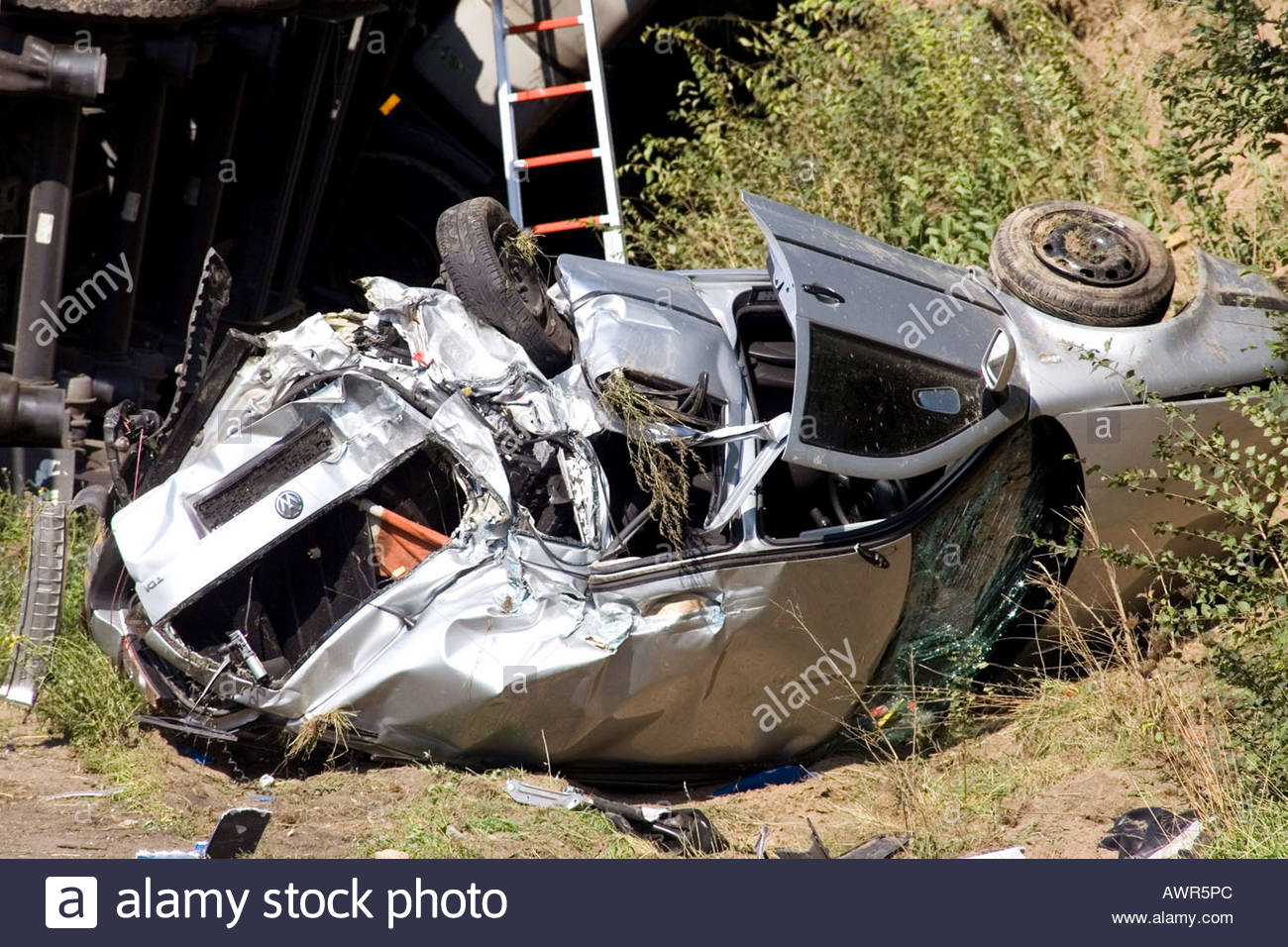 Verkehrsunfall Stock Photo: 9507627 - Alamy