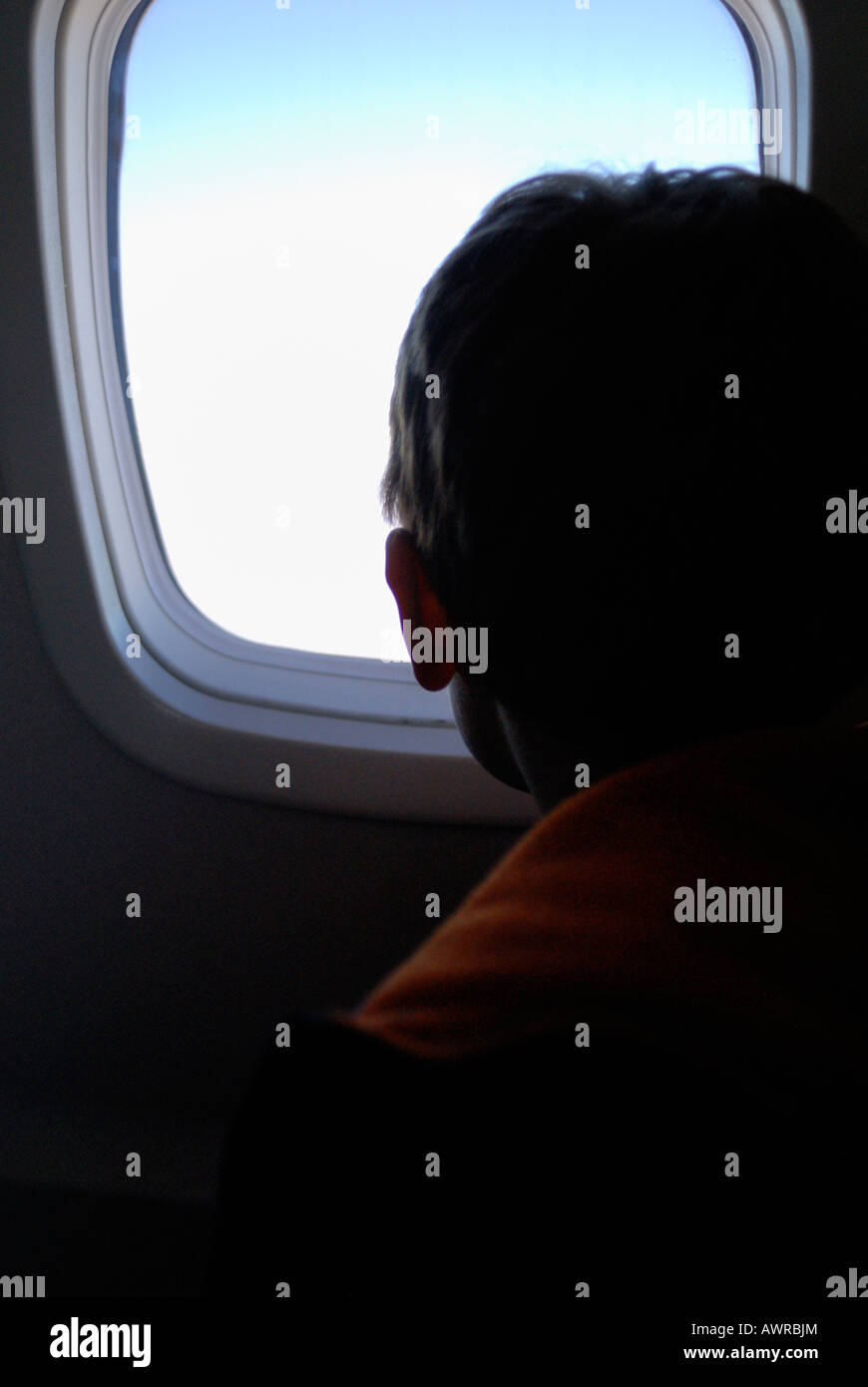 The window seat - Stock Image