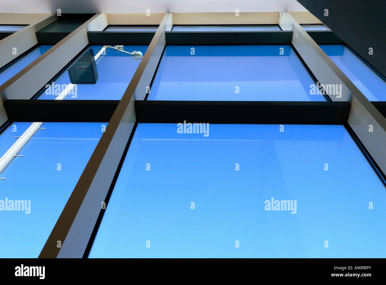large Commercial Building windows - Stock Image