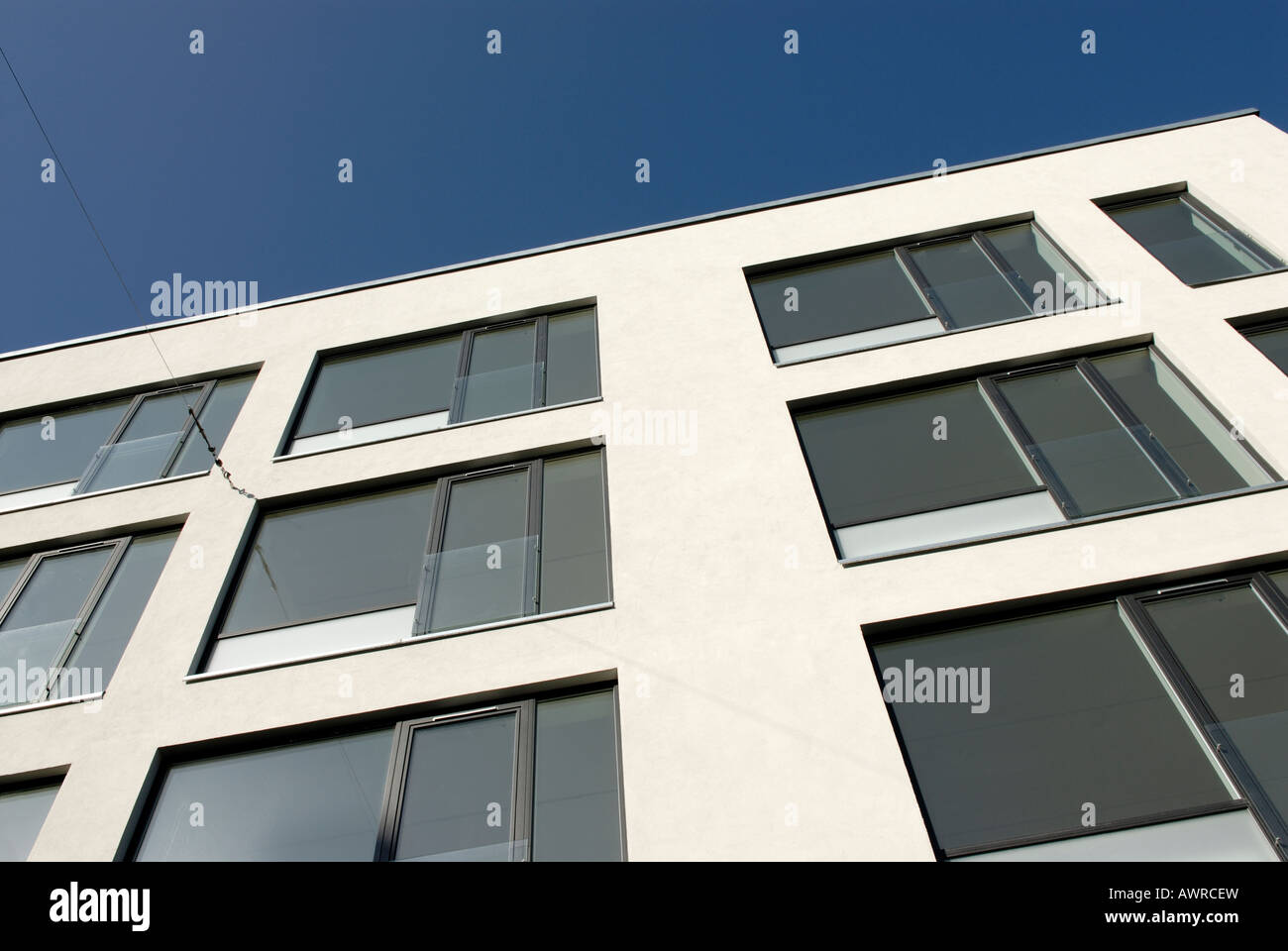 VACANT APARTMENTS - Stock Image
