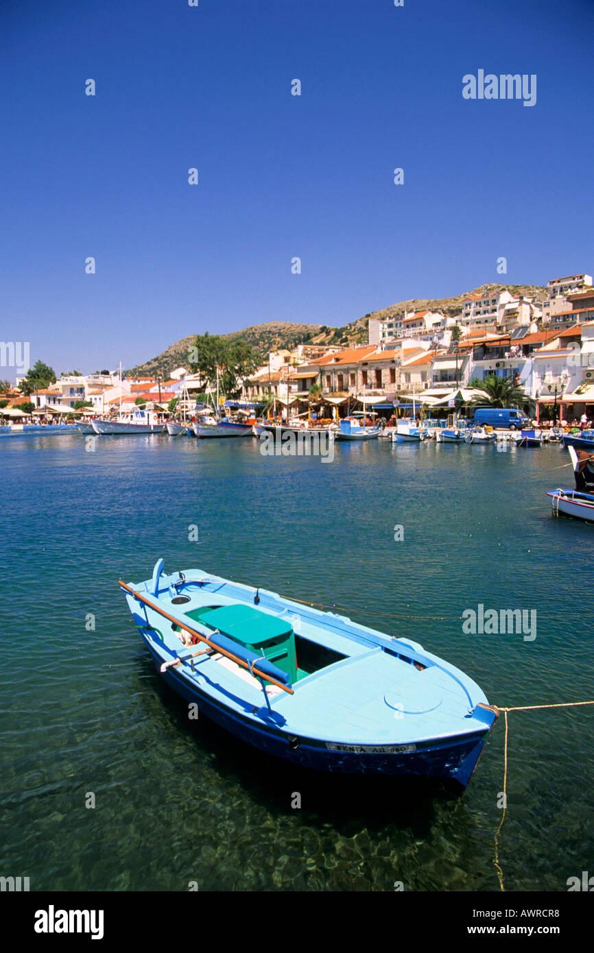 greece northern aegean islands samos the resort of pythagorion Stock Photo