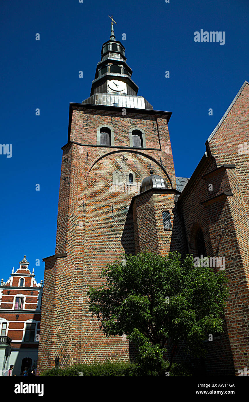 St. Mary´s church, Ystad, Sweden - Stock Image