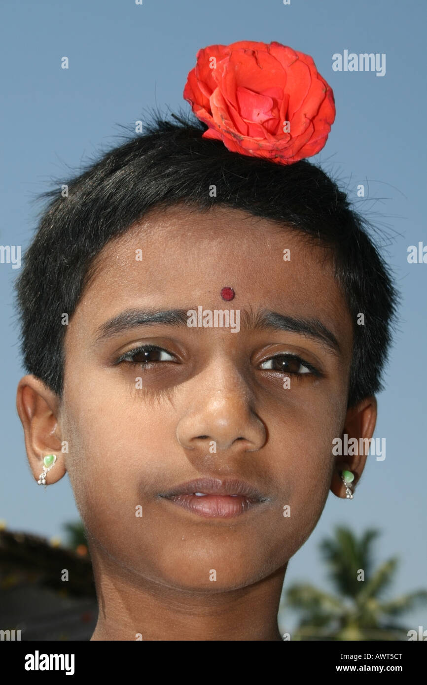 Young Indian Girl In Tamil Stock Photos  Young Indian -8531