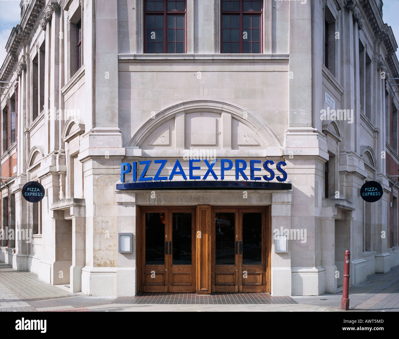 Pizza Express London Uk Stock Photo 9512972 Alamy