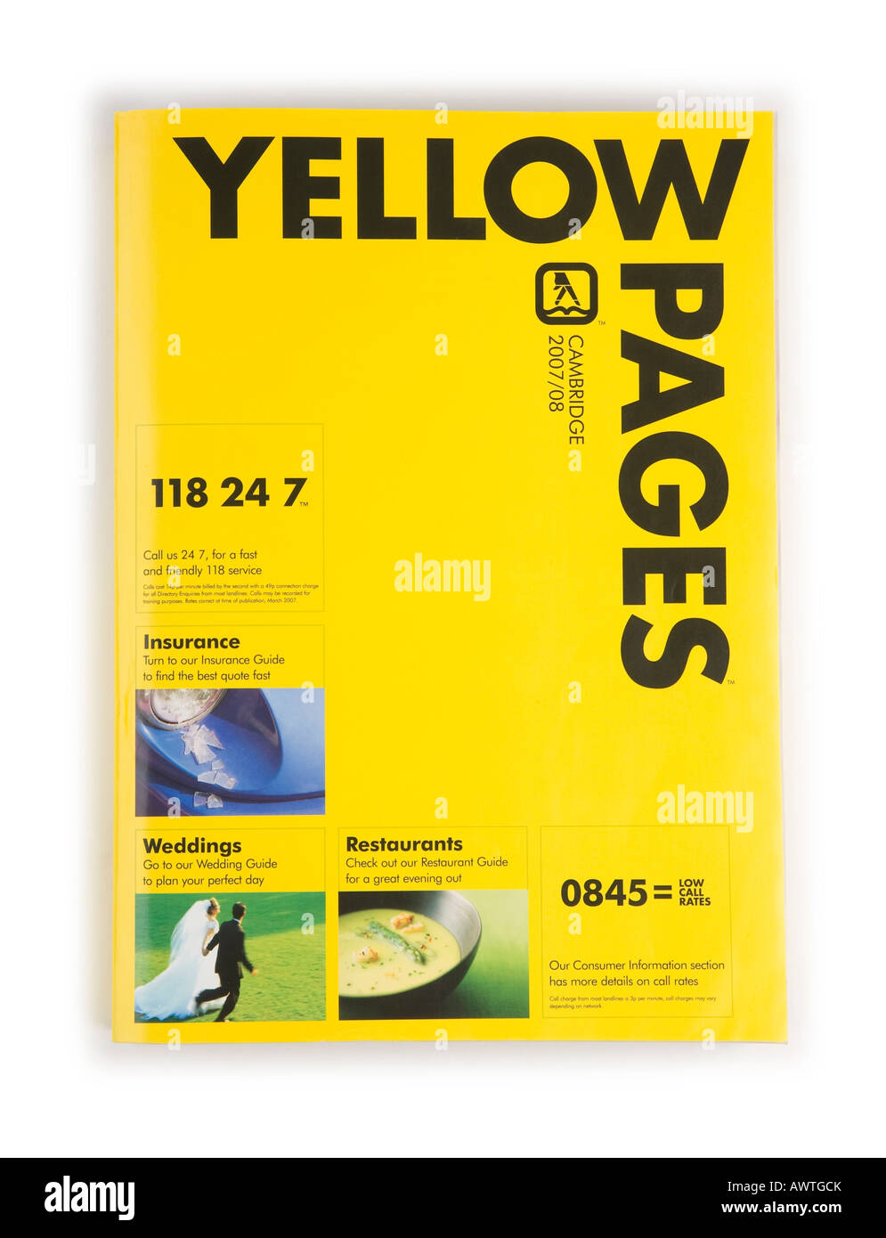 Yellow Pages phone directory Stock Photo: 16651410 - Alamy