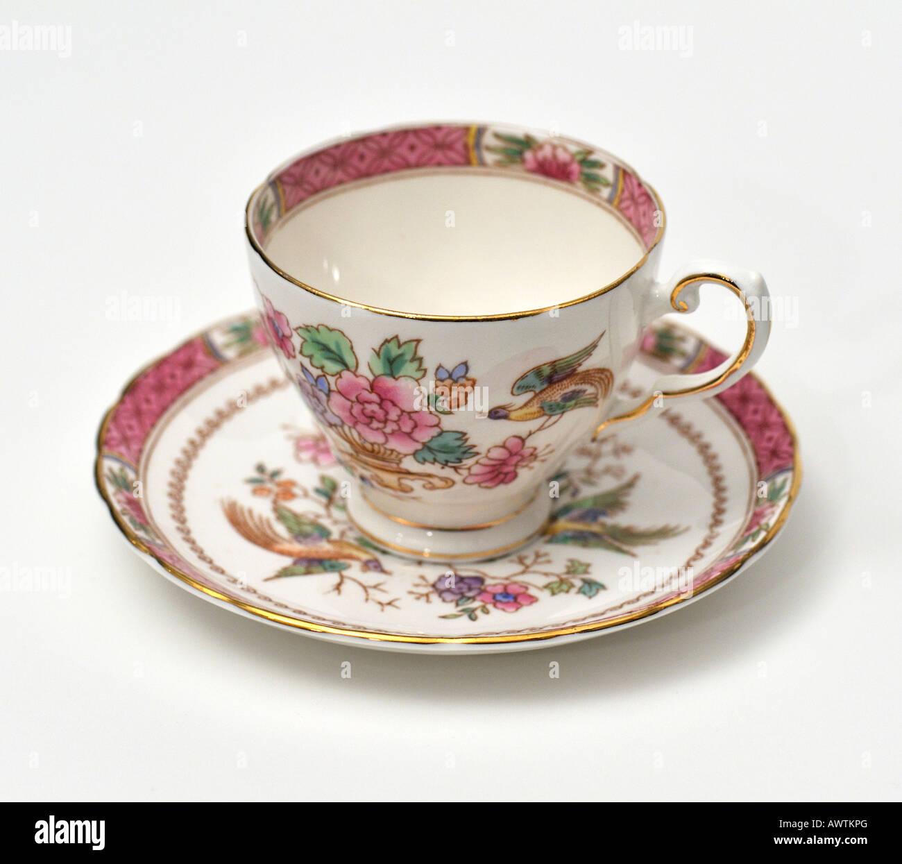 Fine English bone china porcelain English ceramics coffee tea cup