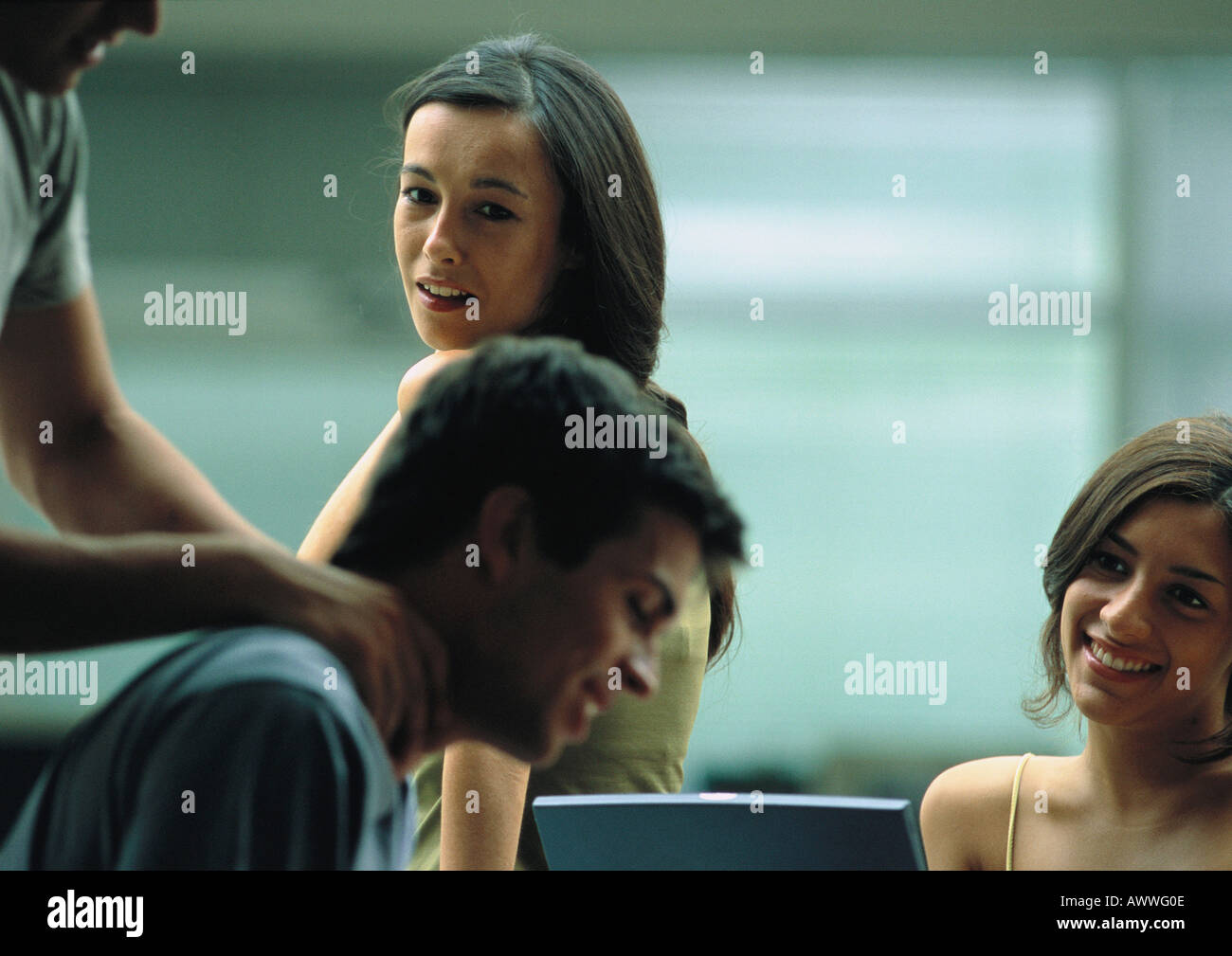 Men and woman together - Stock Image