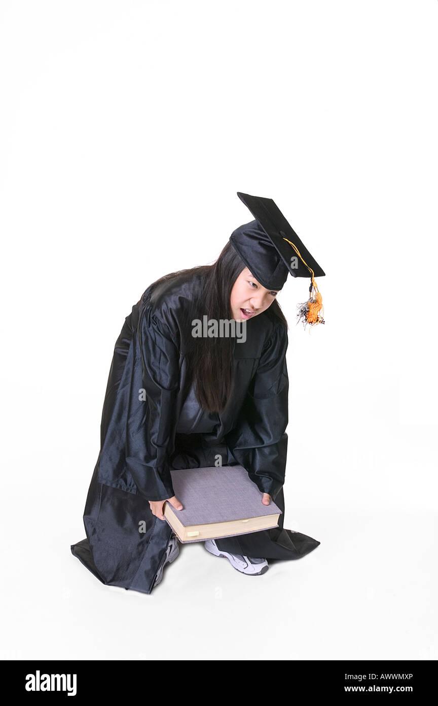 Graduation Gown Asian Stock Photos & Graduation Gown Asian Stock ...