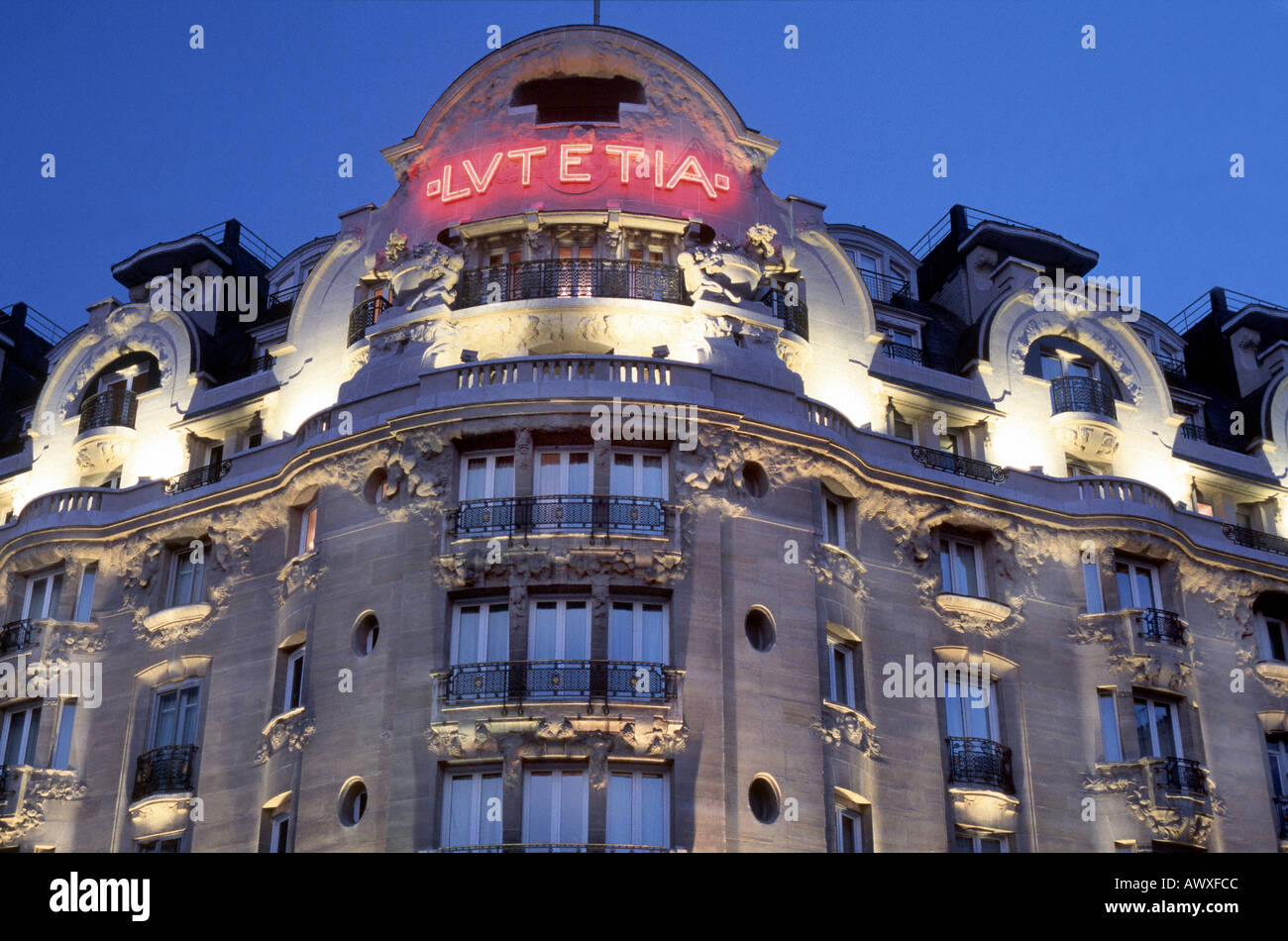 paris france french luxury hotel lutetia palace art nouveau
