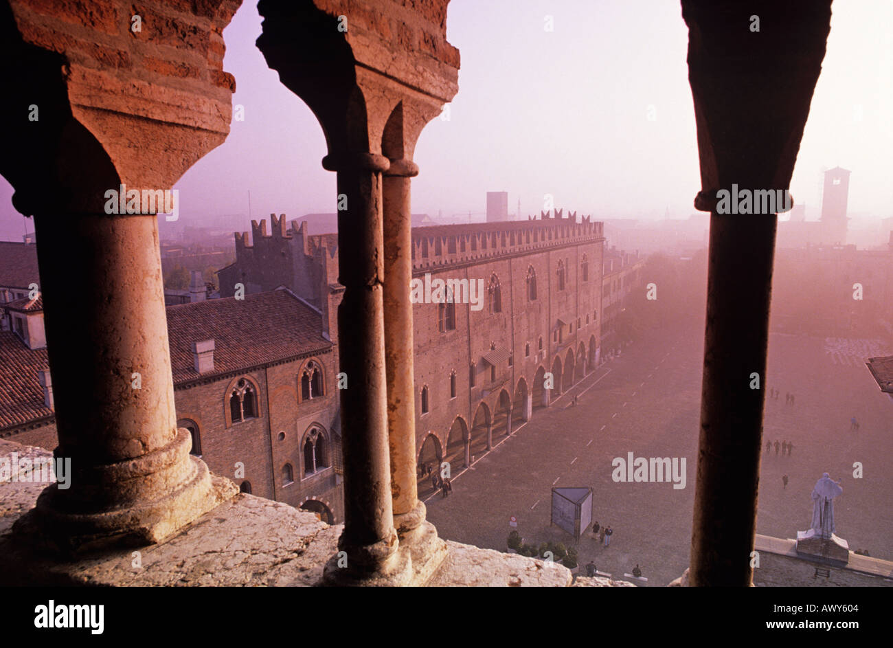 Palazzo Ducale Mantua Lombardy Italy - Stock Image