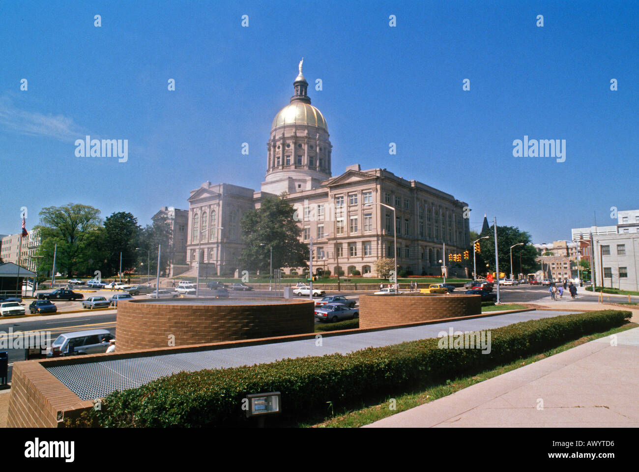 The State Capitol Building at Atlanta Georgia - Stock Image