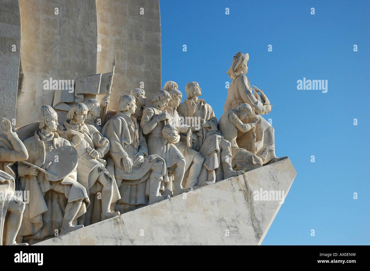 Padrão dos Descobrimentos (Age of Discovery Memorial) in Lisbon, Portugal, Europe - Stock Image