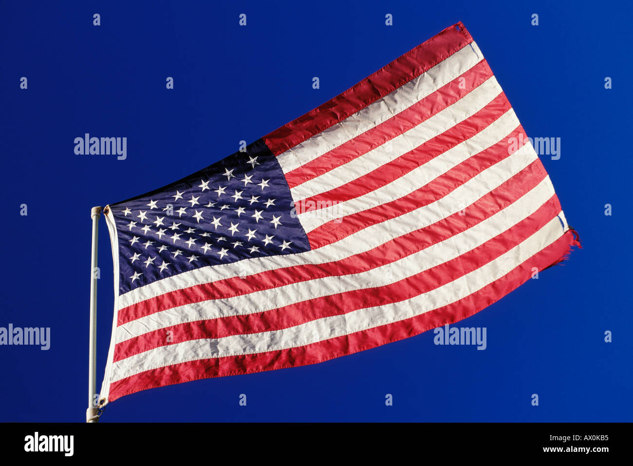 Flags, American flag - Stock Image
