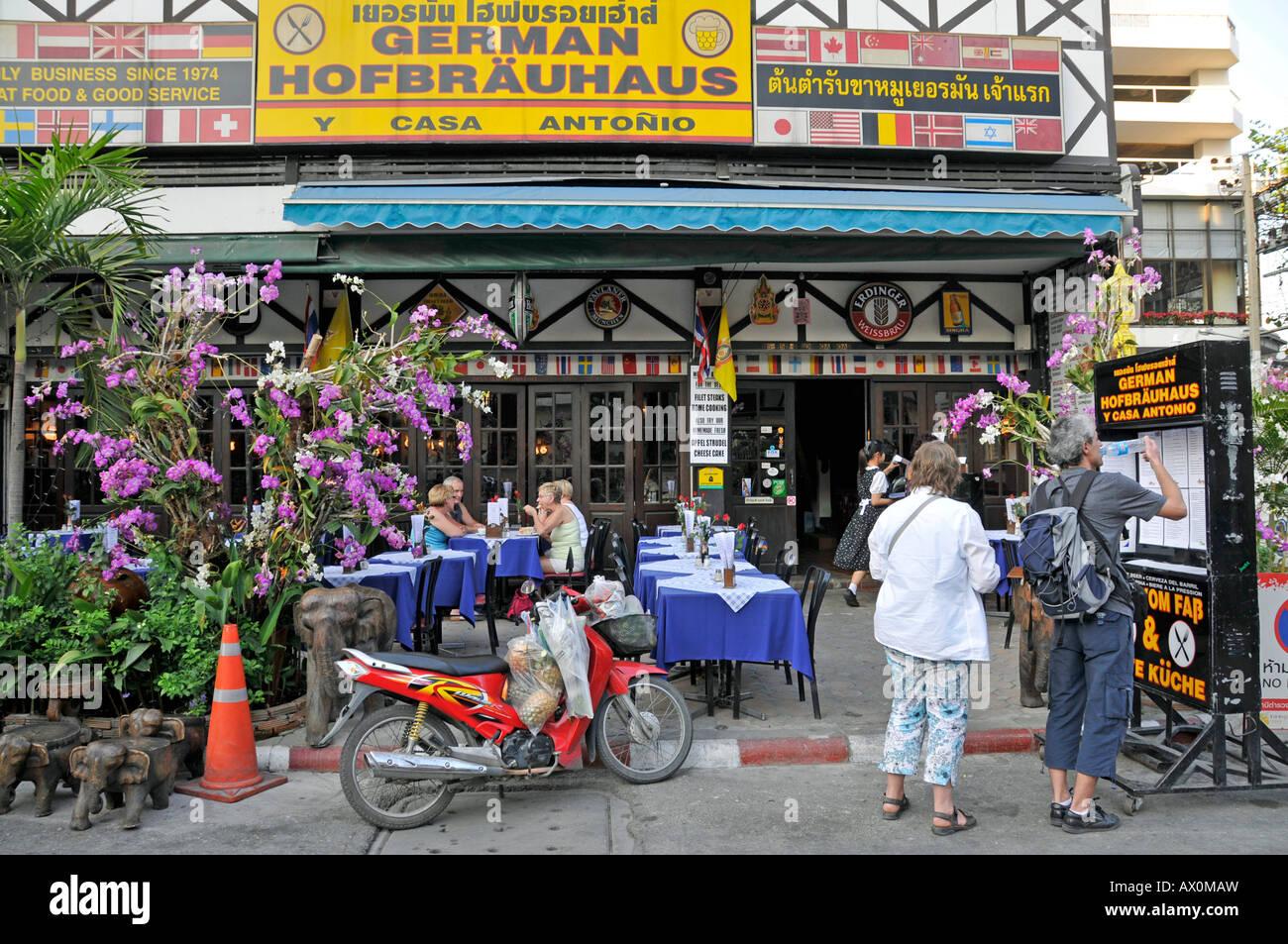 'German Hofbraeuhaus, ' Chiang Mai, Thailand, Southeast Asia, Asia - Stock Image