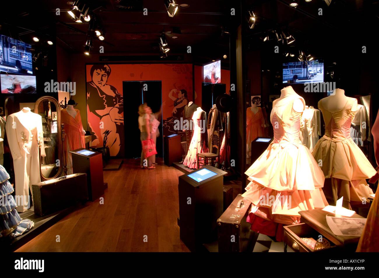 Museo del baile flamenco Sevilla, Museum, Andalucia, Spain Stock Photo