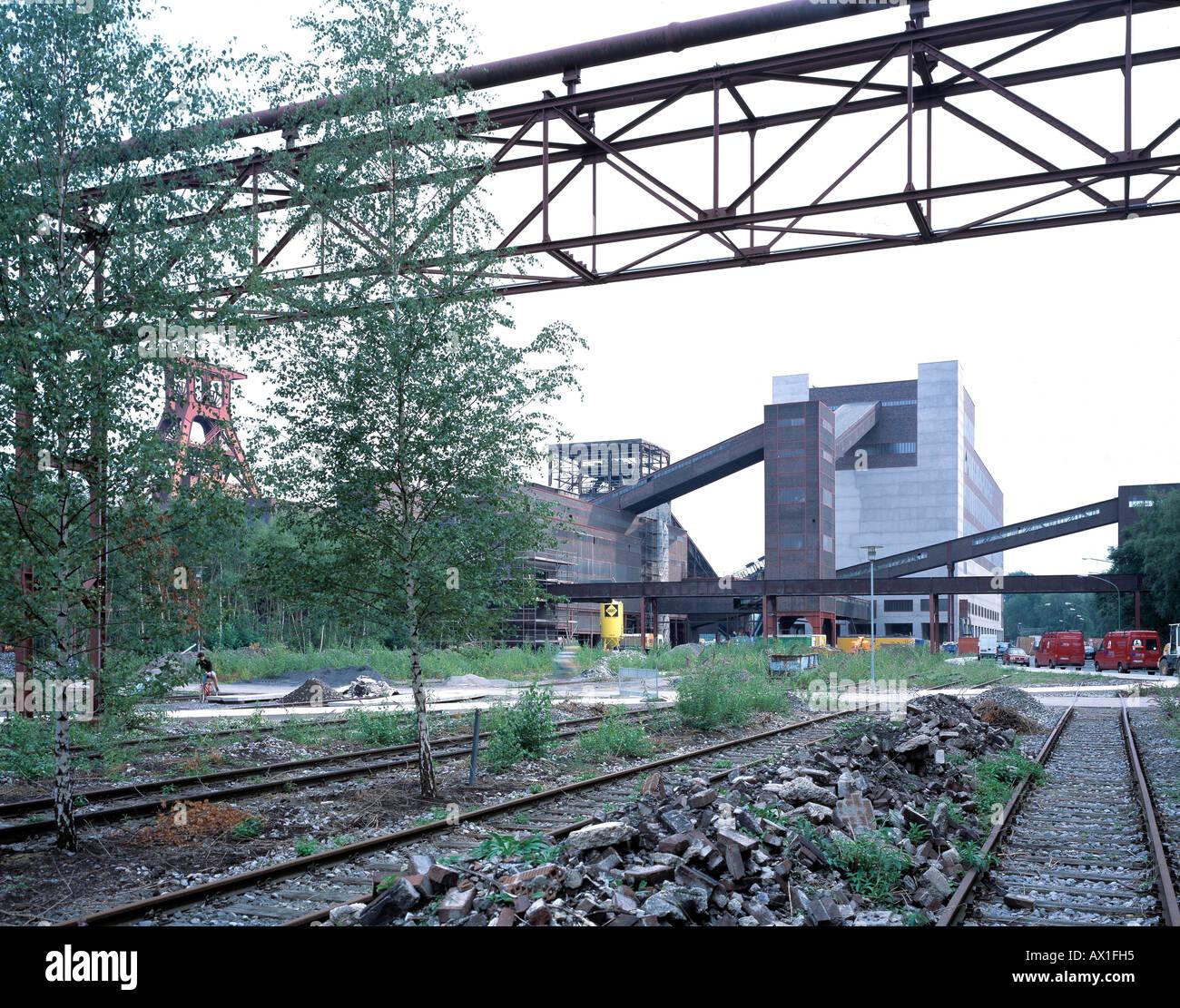 ZOLLVEREIN COAL MINE INDUSTRIAL COMPLEX, ESSEN, GERMANY - Stock Image