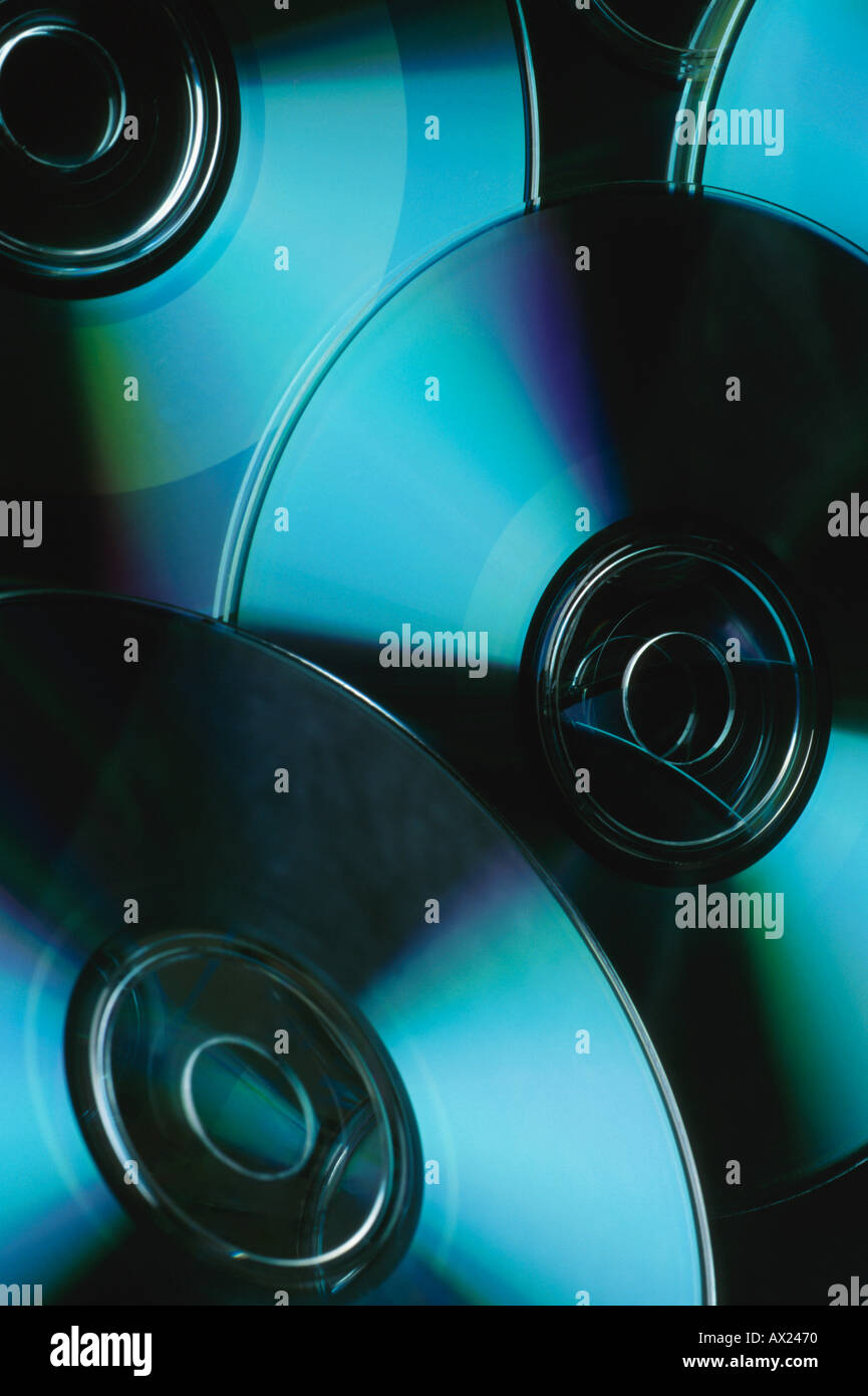 Pile of CD s uid 1426452 - Stock Image