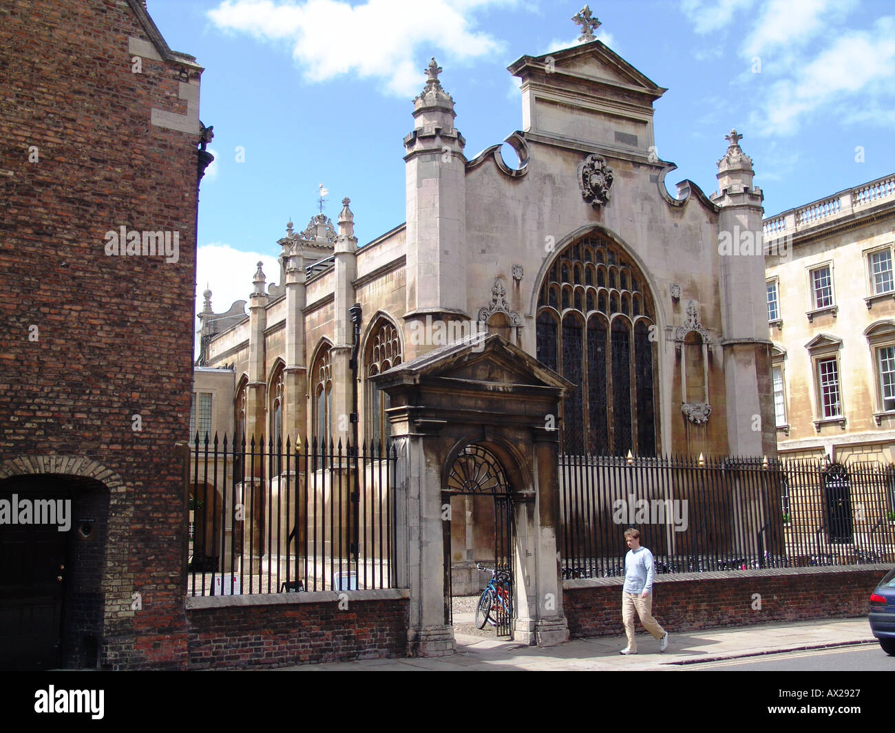 Peterhouse College Cambridge University - Stock Image