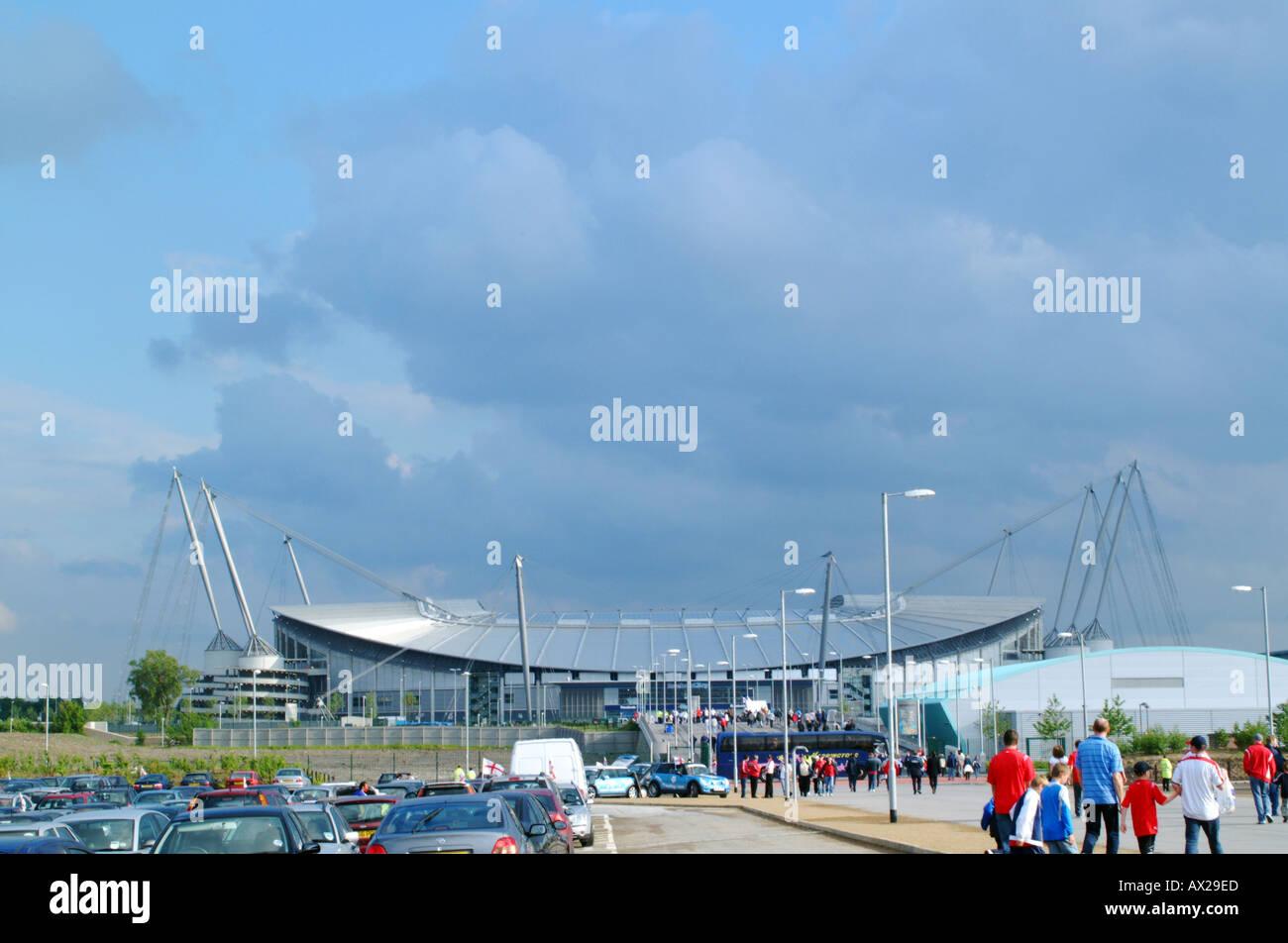 The city of manchester stadium - Stock Image