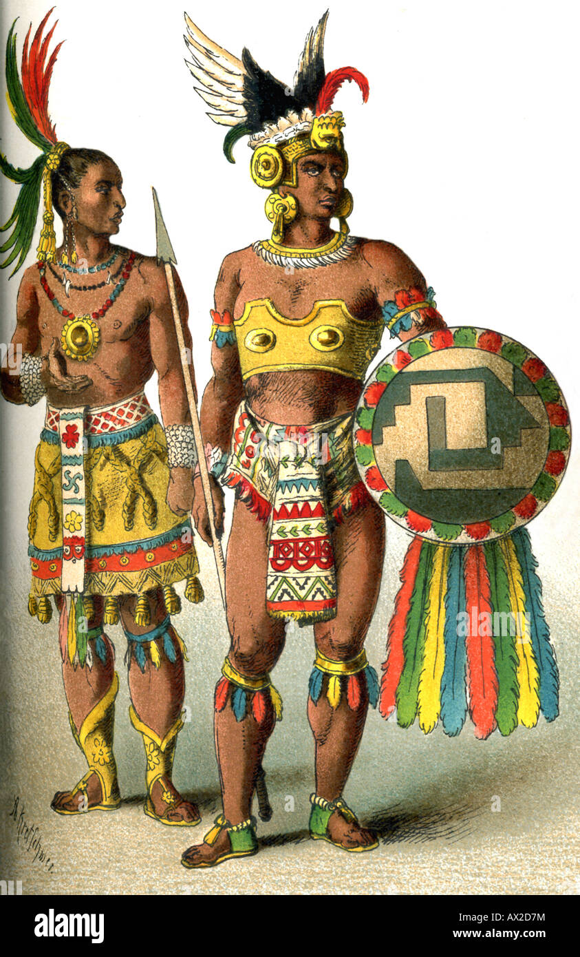 Mexican Noble and Chief - Stock Image