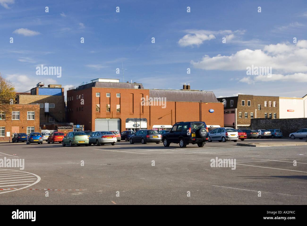 Cattle market car park
