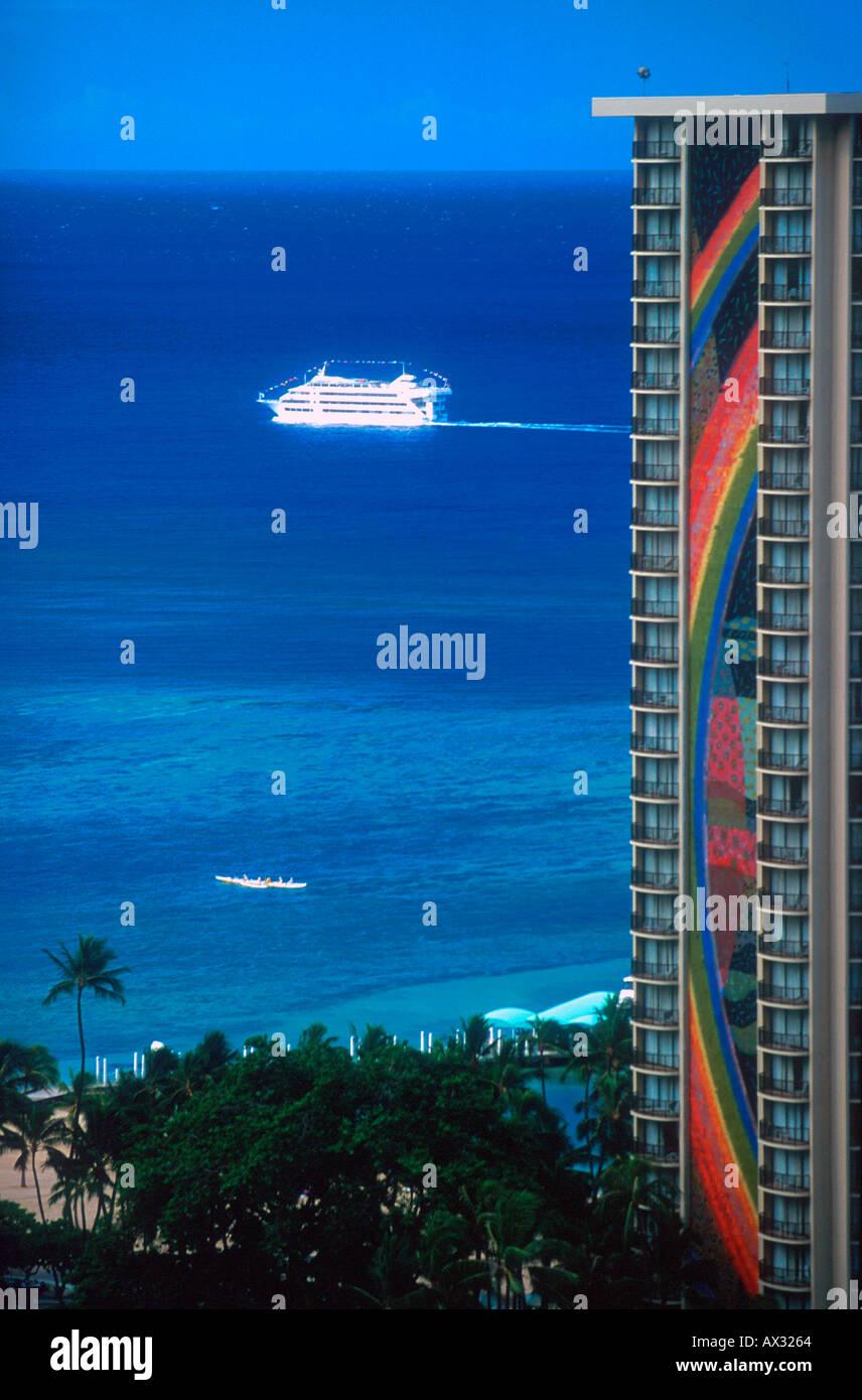 Hilton Hawaiian Village Hotel Waikiki Beach Honolulu Hawaii