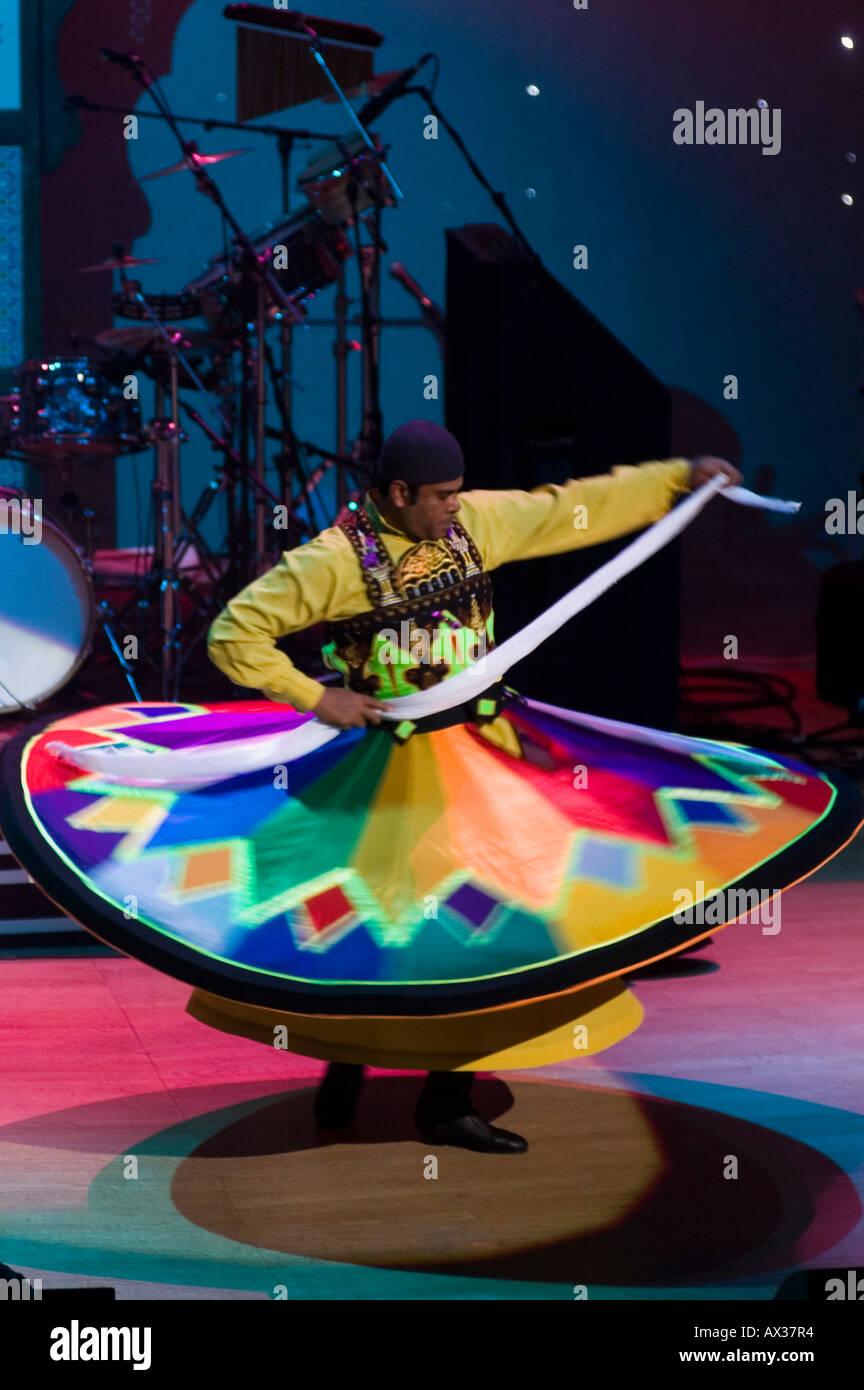 Whirling Dervish Sufi Sufism spiritual - Stock Image
