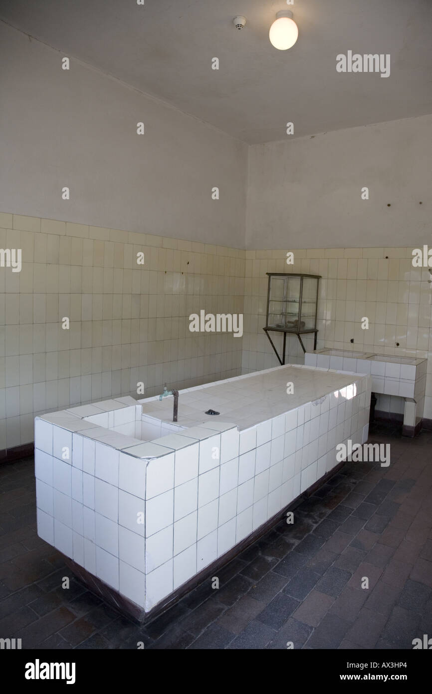 Pathological Facilities, Buchenwald Concentration Camp Museum Memorial, Weimar, Germany - Stock Image