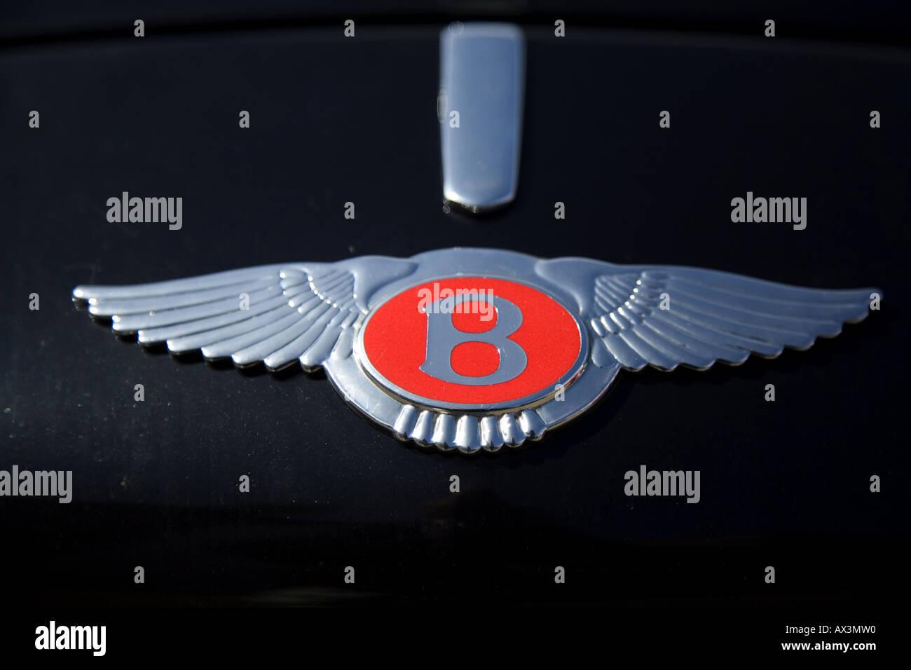 Bentley Wings Logo Stock Photos & Bentley Wings Logo Stock