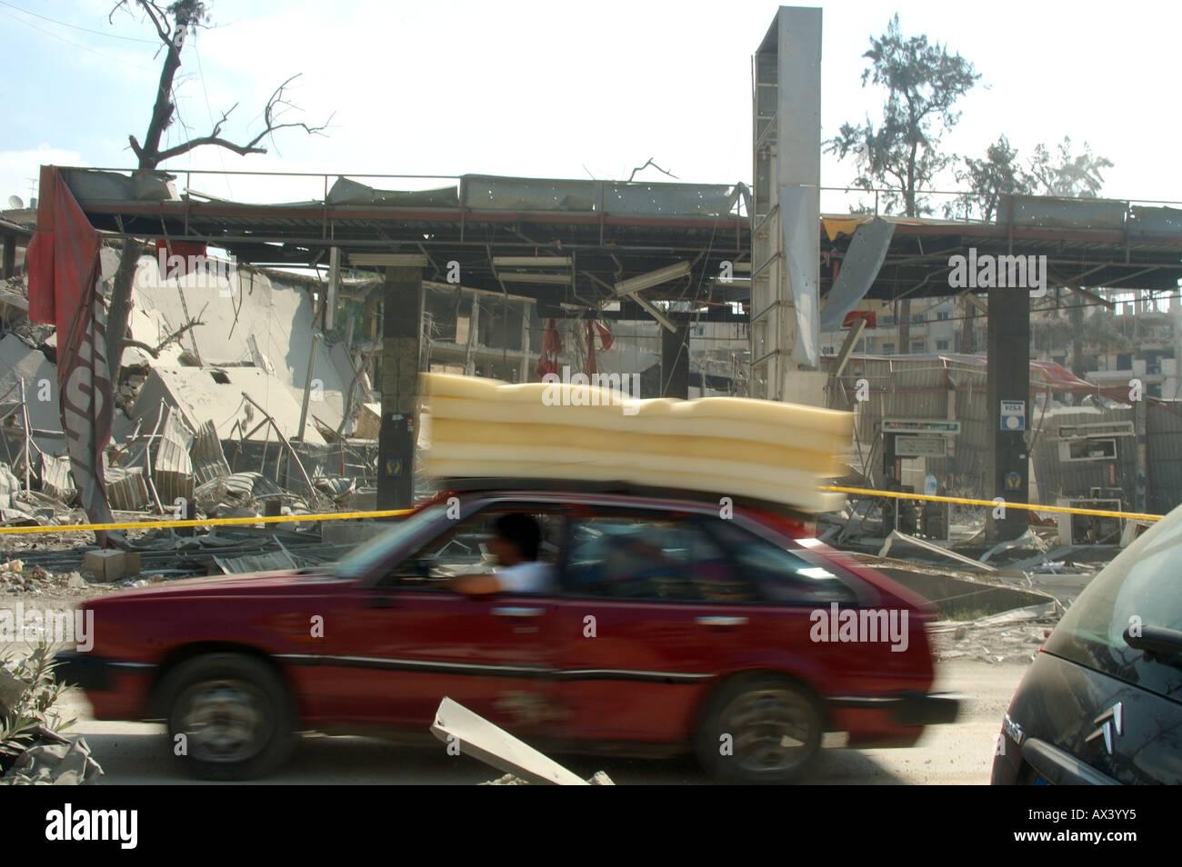 12 july 2006 israely war against lebanon - Stock Image