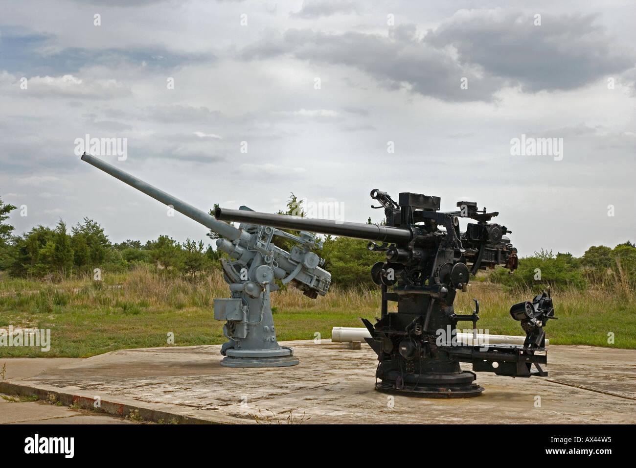 'World War II Artillary' - Stock Image