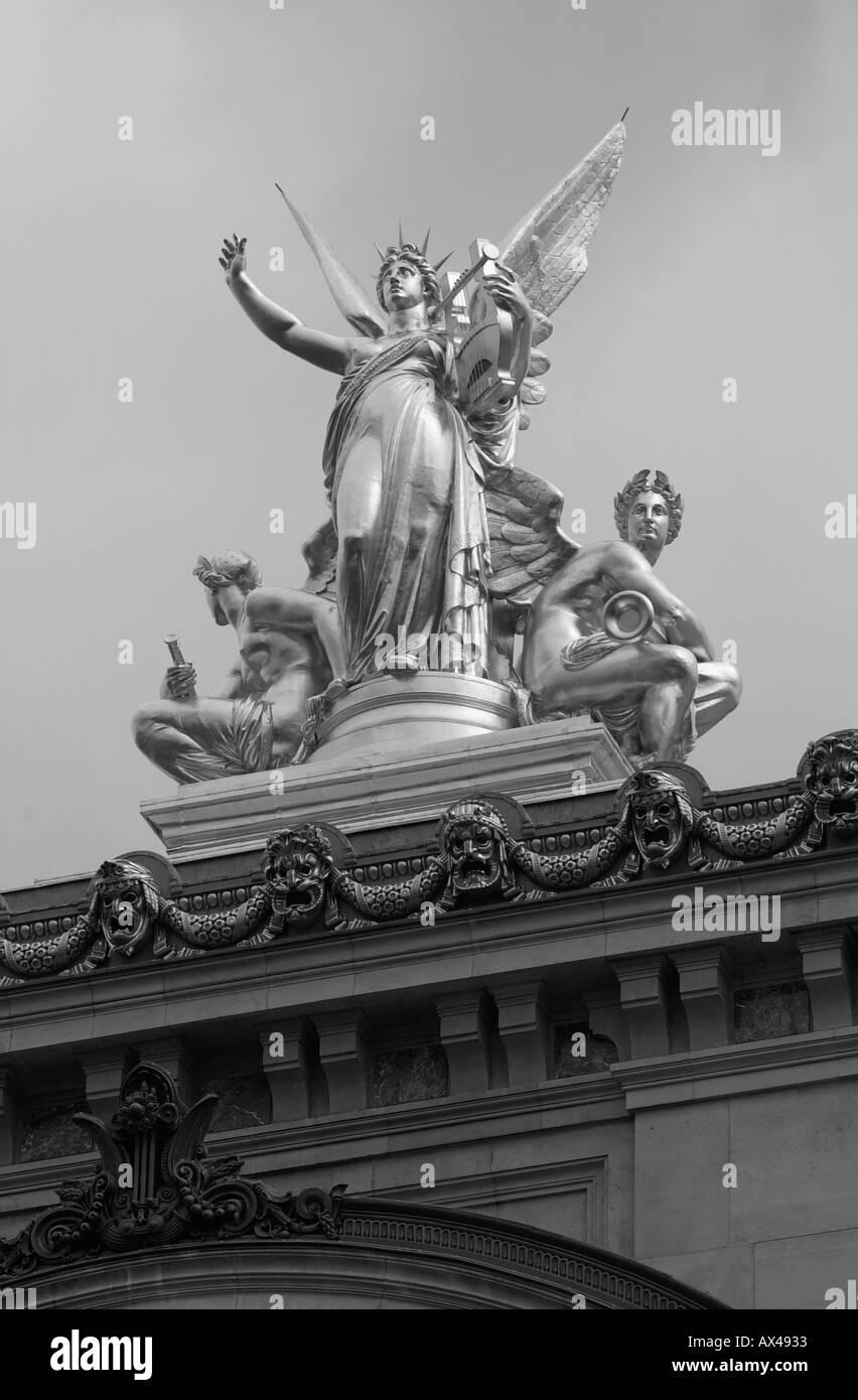 Opera Garnier Paris France - Stock Image