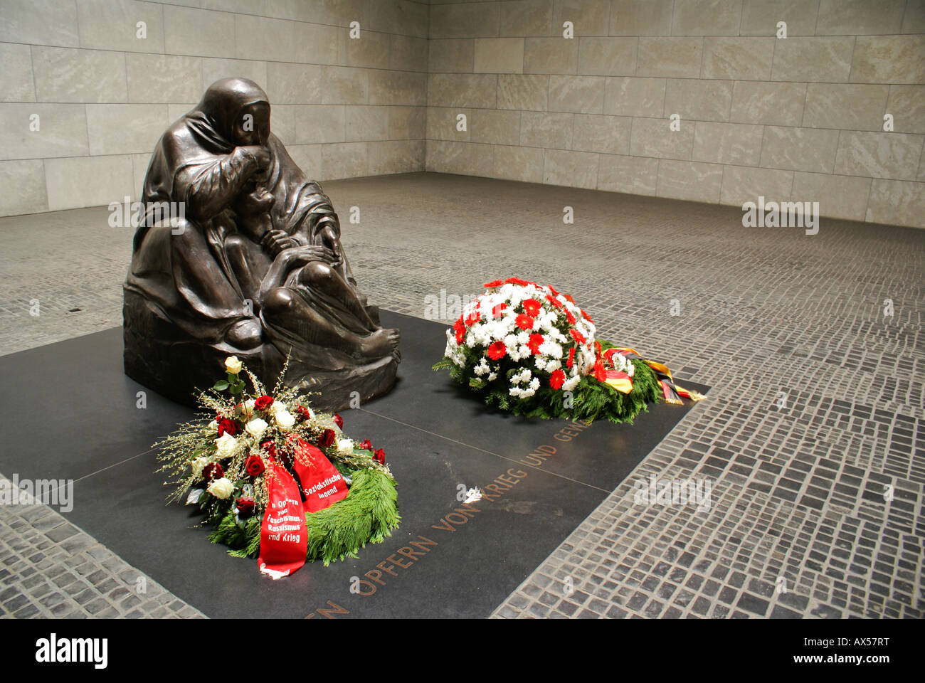 memorial to the soldiers killed in battle, in Berlin - Stock Image