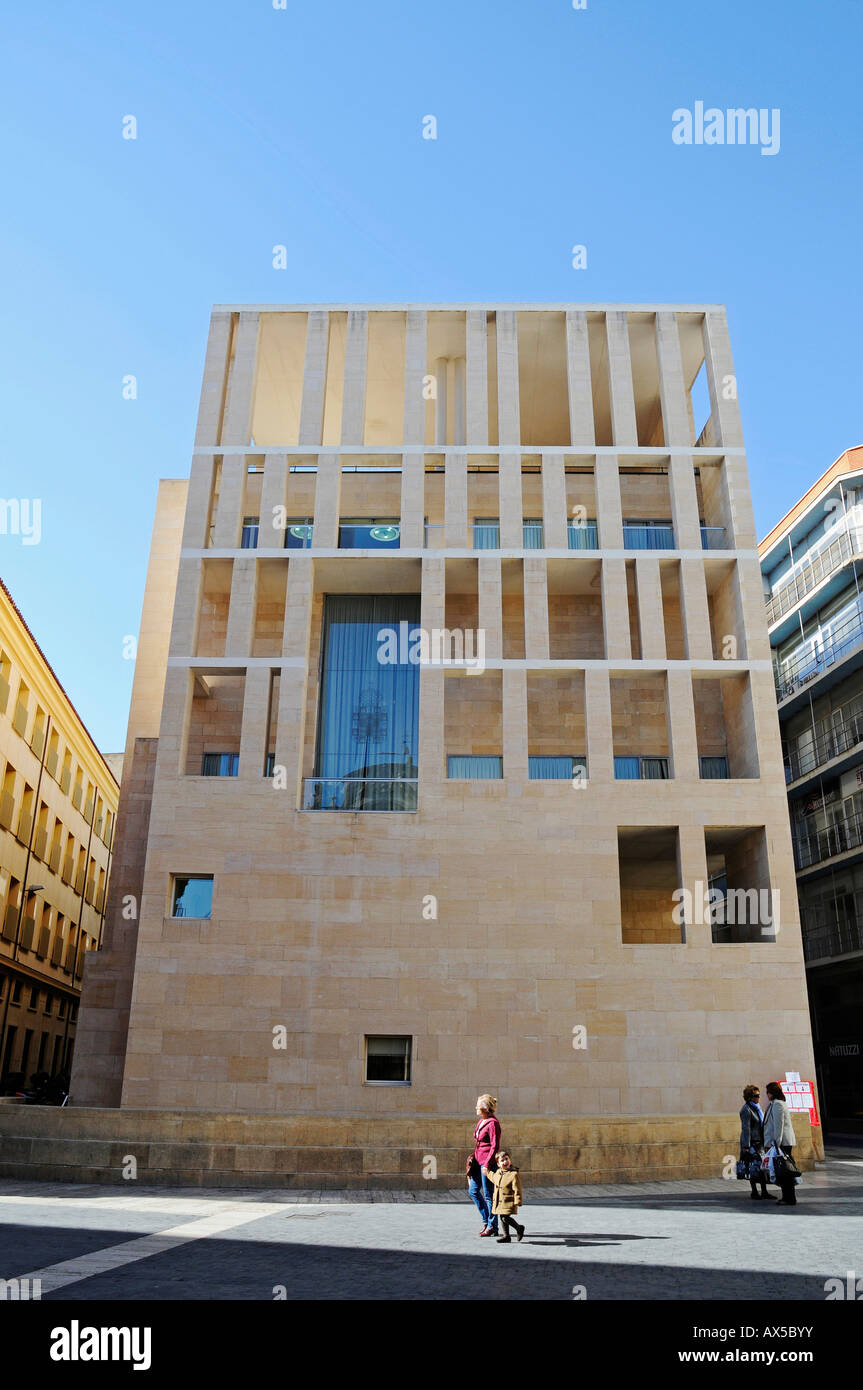 City hall, Plaza Cardenal Belluga (Cardinal Belluga Square), Murcia, Spain, Europe Stock Photo