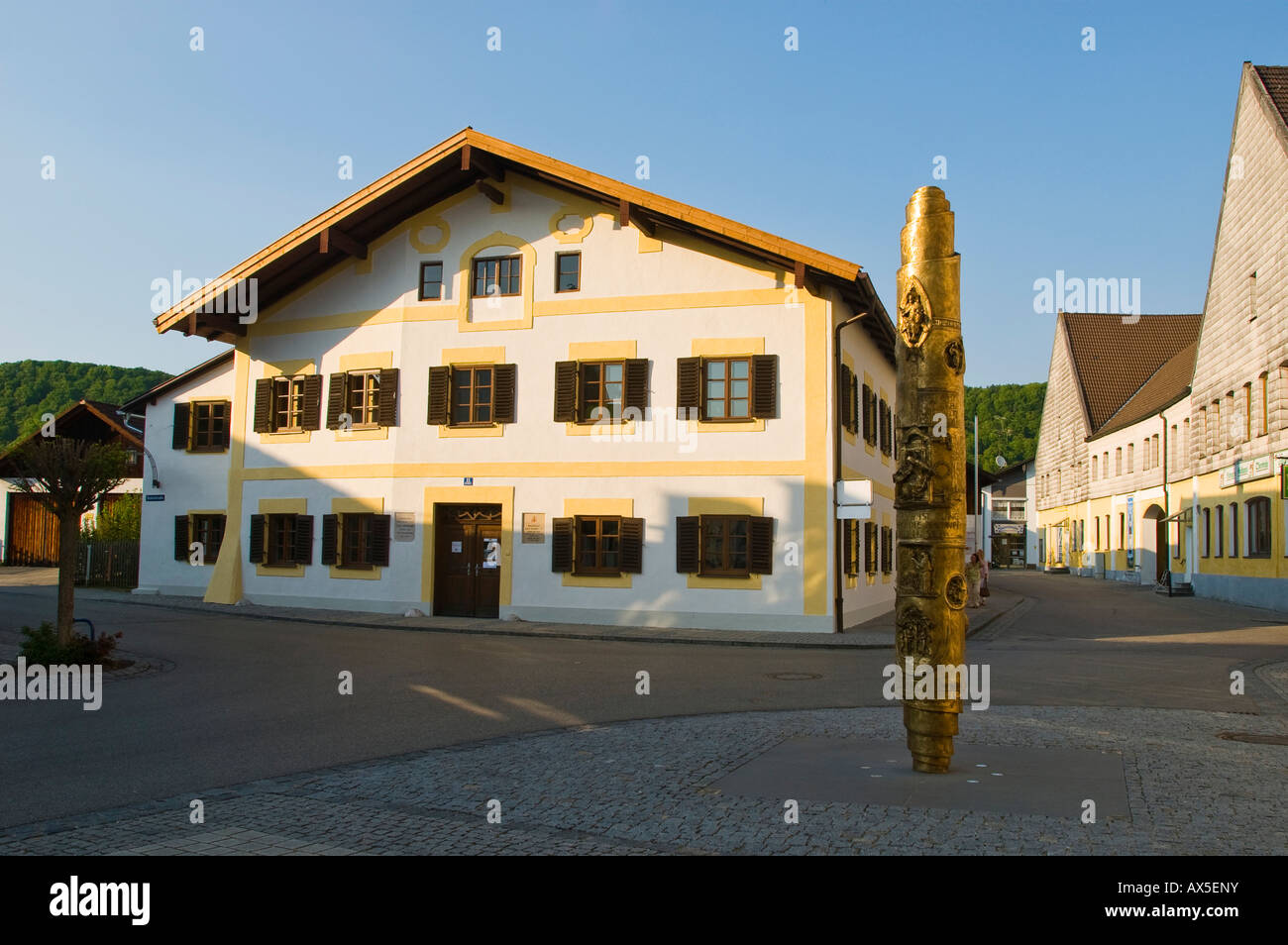 Birthplace Of Pope Benedict Xvi Marktl Am Inn Bavaria Germany