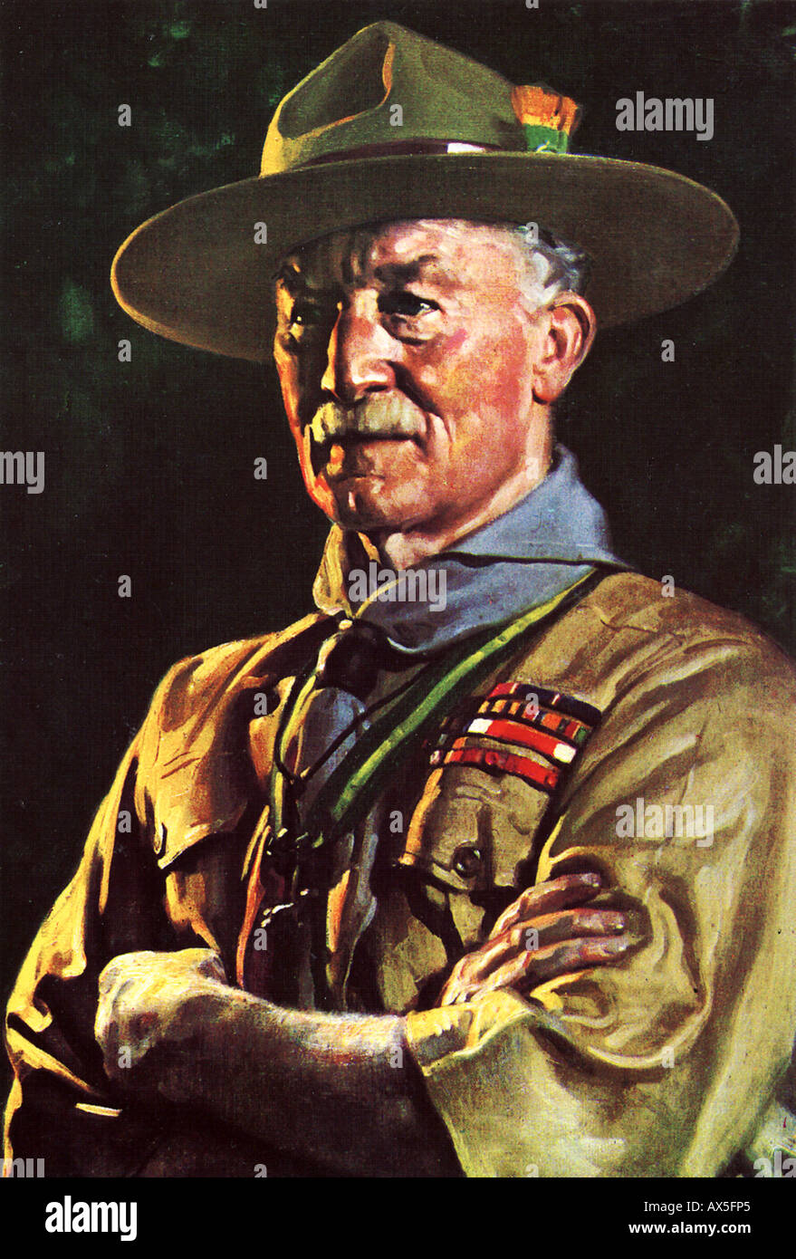 Robert Baden Powell 1857 1941 English Soldier And Founder