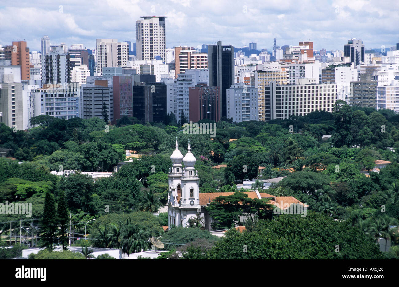Muito Sao Paulo, Brazil. Overview of the leafy and fashionable Jardins  BS67