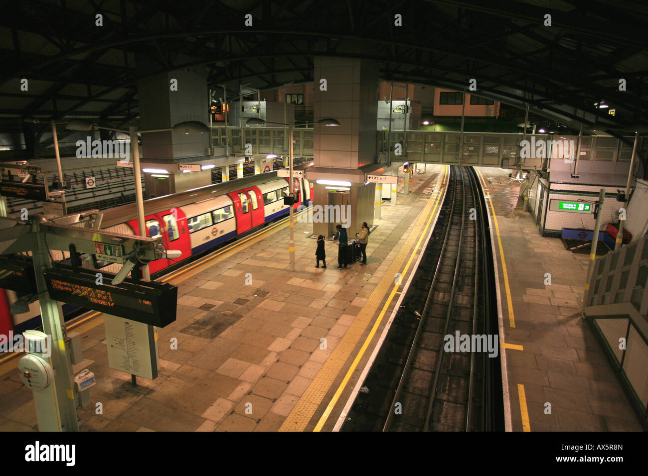 Morden underground station, southern terminus of the Northern Line, London, England, UK, Europe Stock Photo