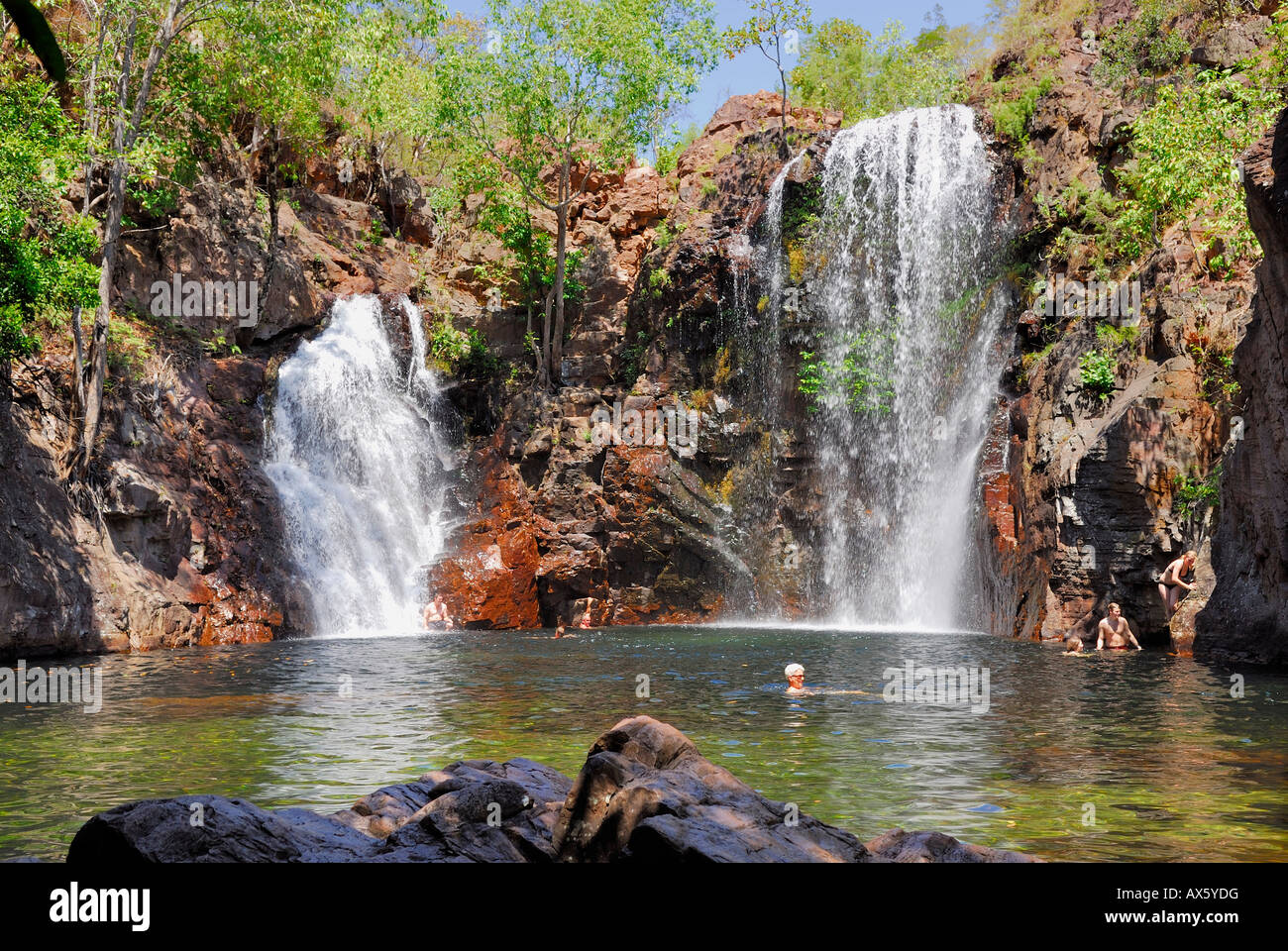 Florence Falls, Litchfield National Park, Northern Territory, Australia - Stock Image