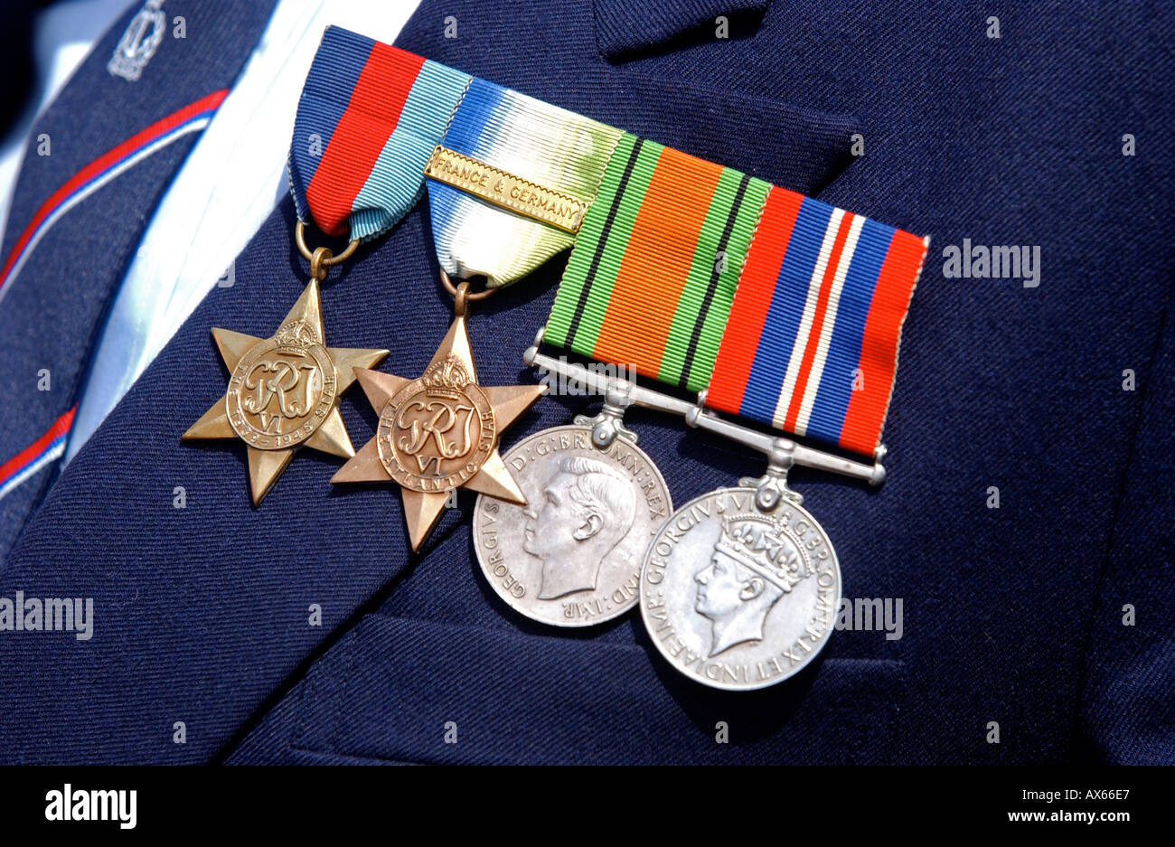 War medals - Stock Image