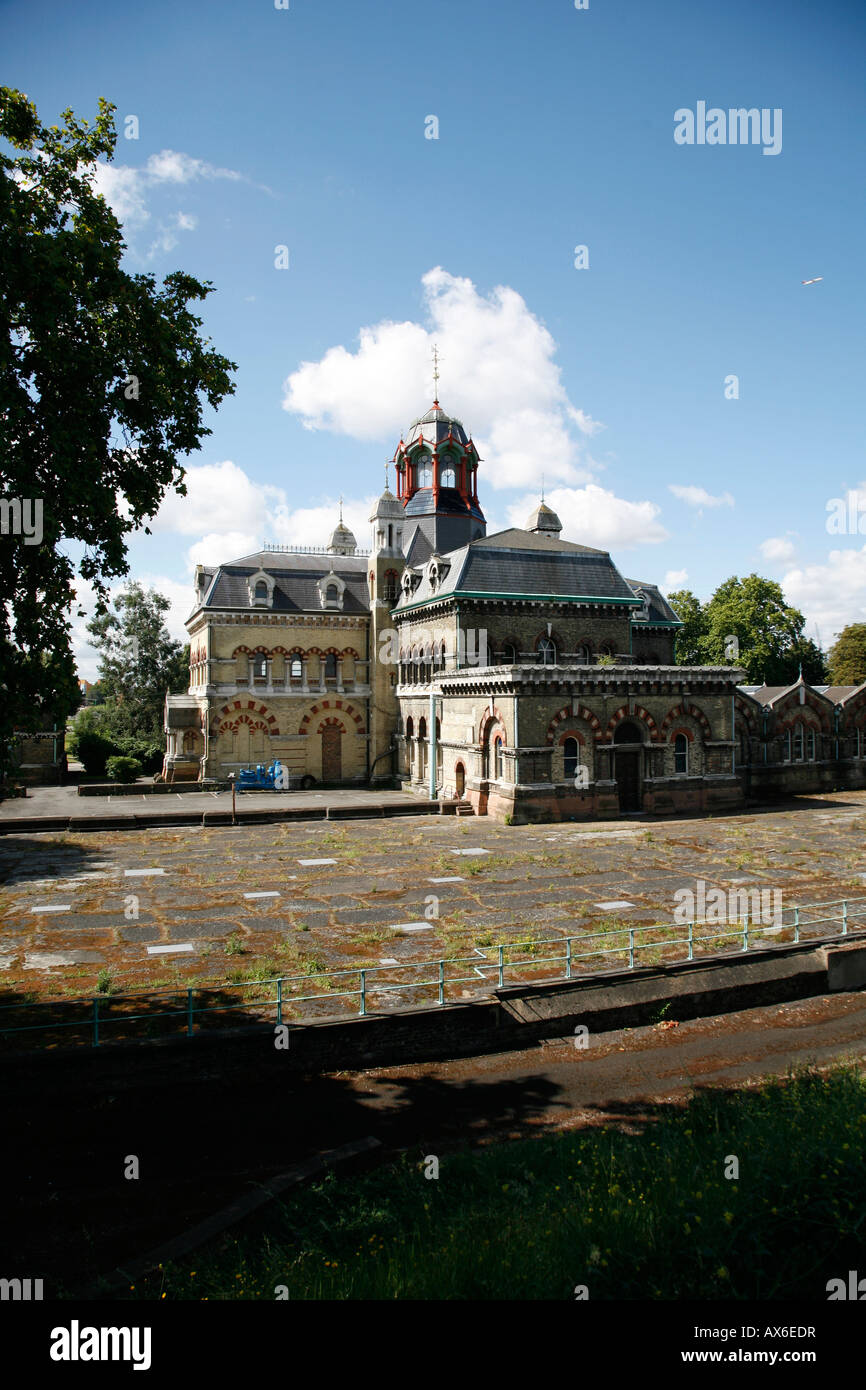 Abbey Mills Pumping Station, Stratford, London - Stock Image