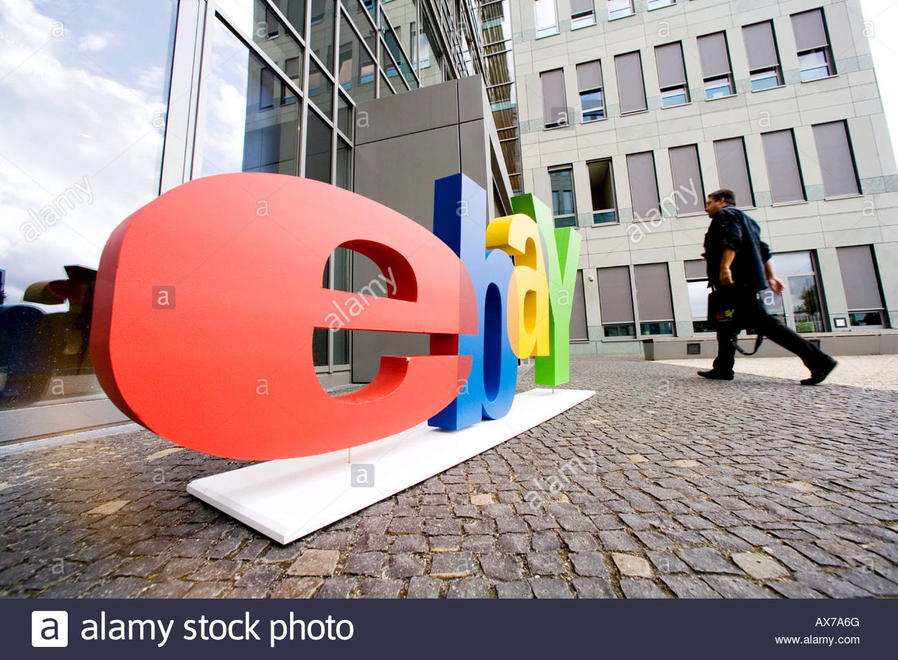 ebay head office. German Head Office Of Ebay - Stock Image