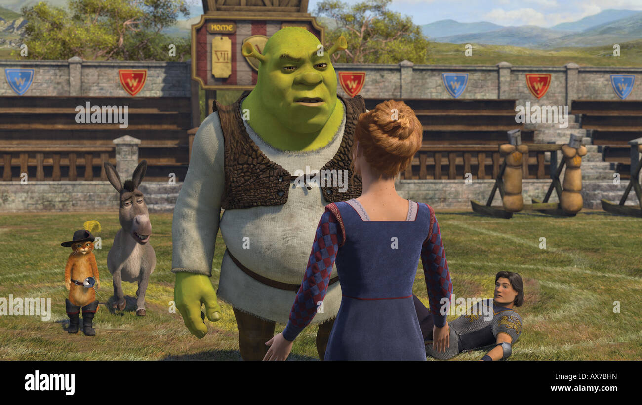 Shrek The Third High Resolution Stock Photography And Images Alamy