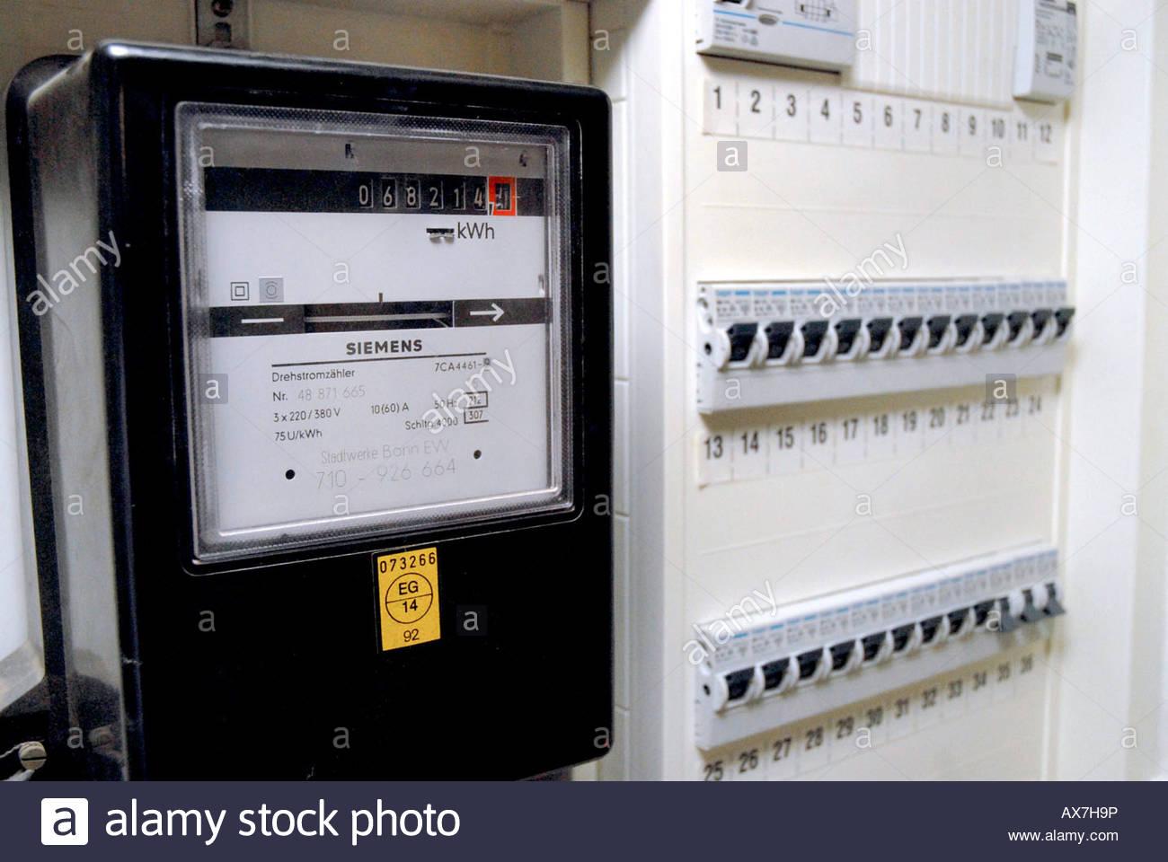 Power Switch Box Germany Stock Photos & Power Switch Box Germany ...