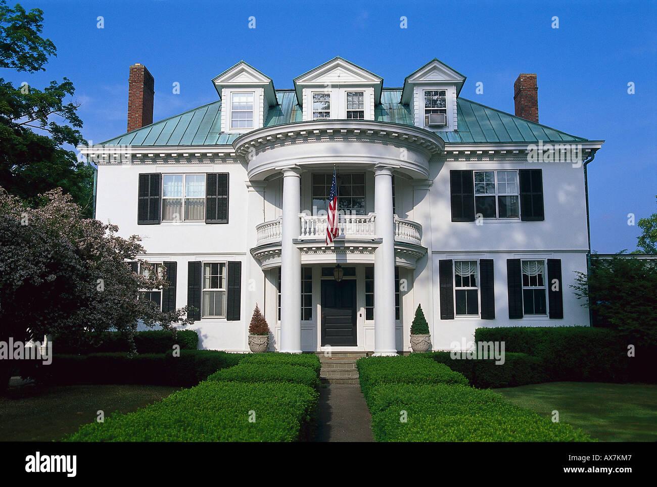 Villen, Downtown, Litchfield Connecticut, USA - Stock Image