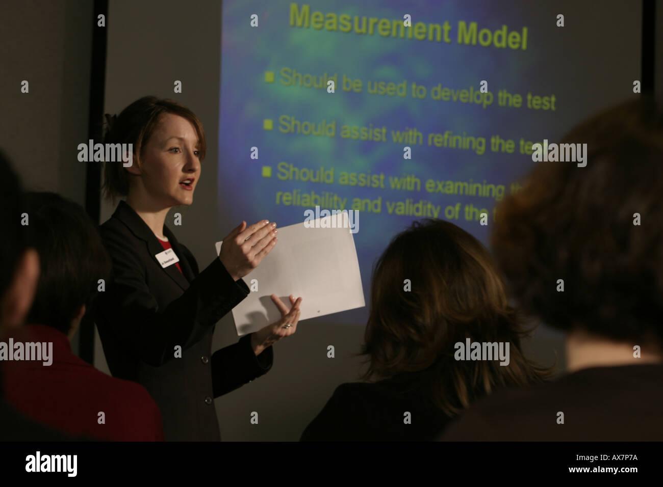 Presentation - Stock Image