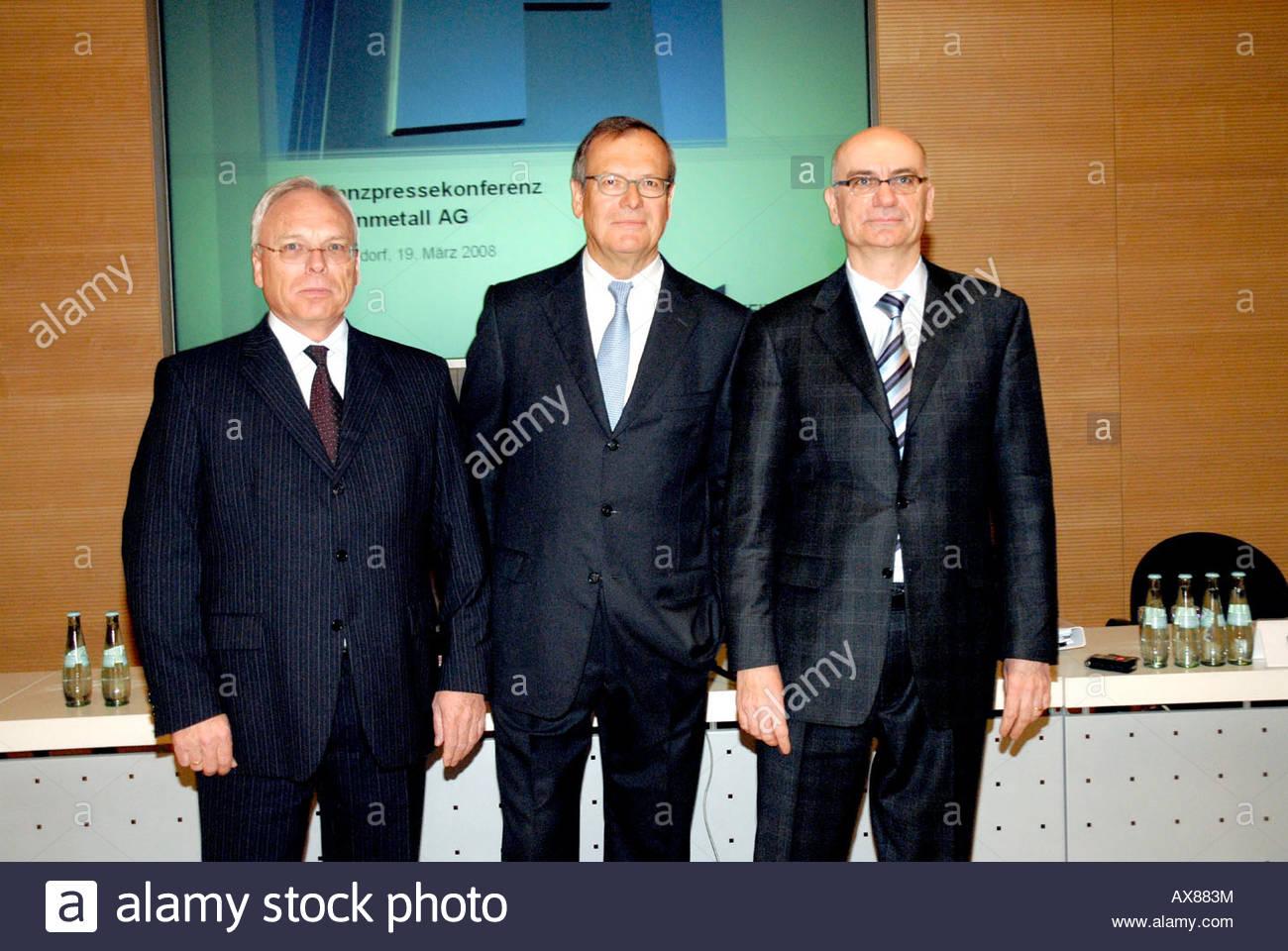 Gert KLEINERT, Klaus EBERHARDT, Herbert MUELLER - Stock Image