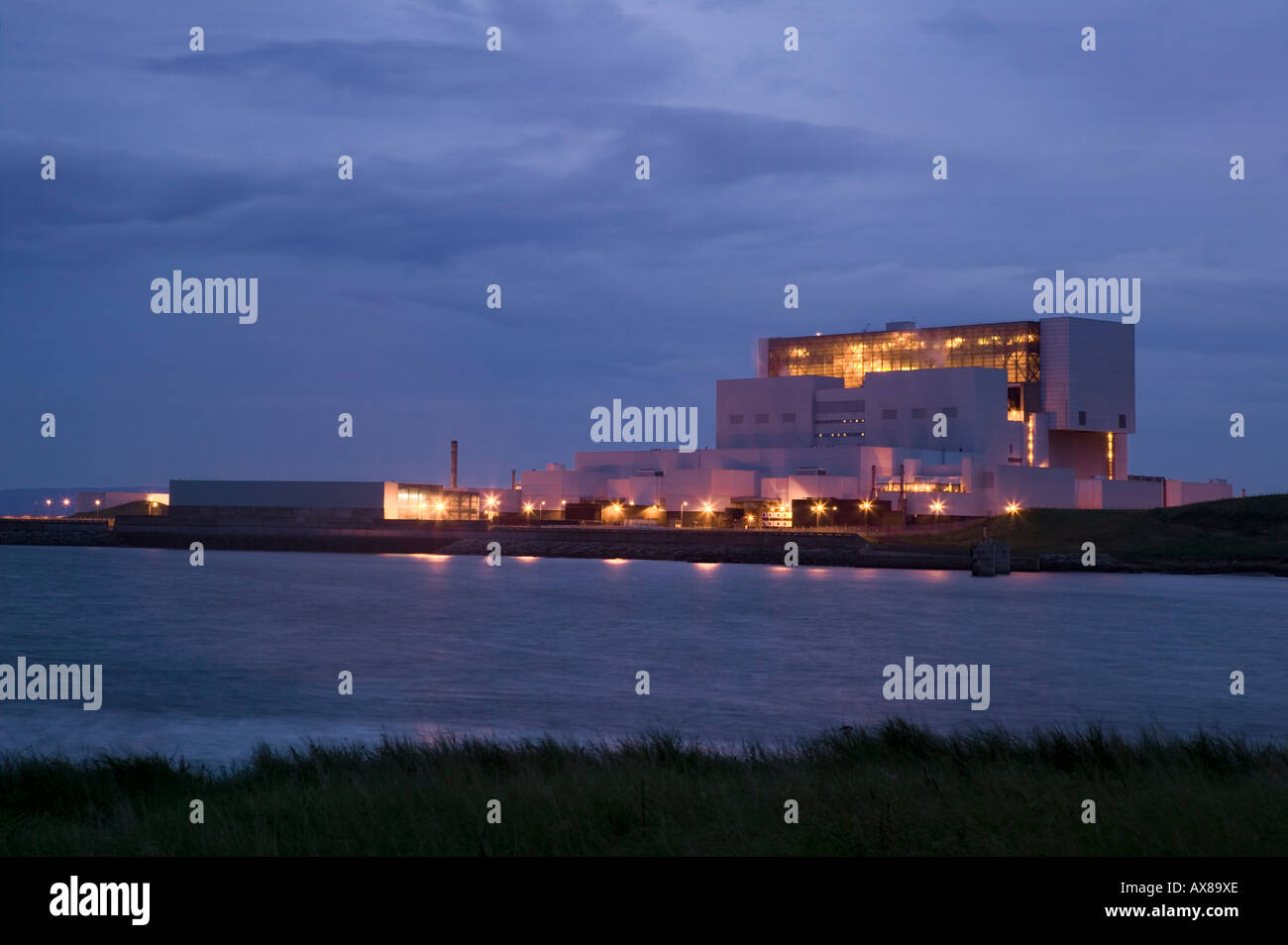 Torness Nuclear Power Station, near Dunbar, East Lothian, Scotland - Stock Image