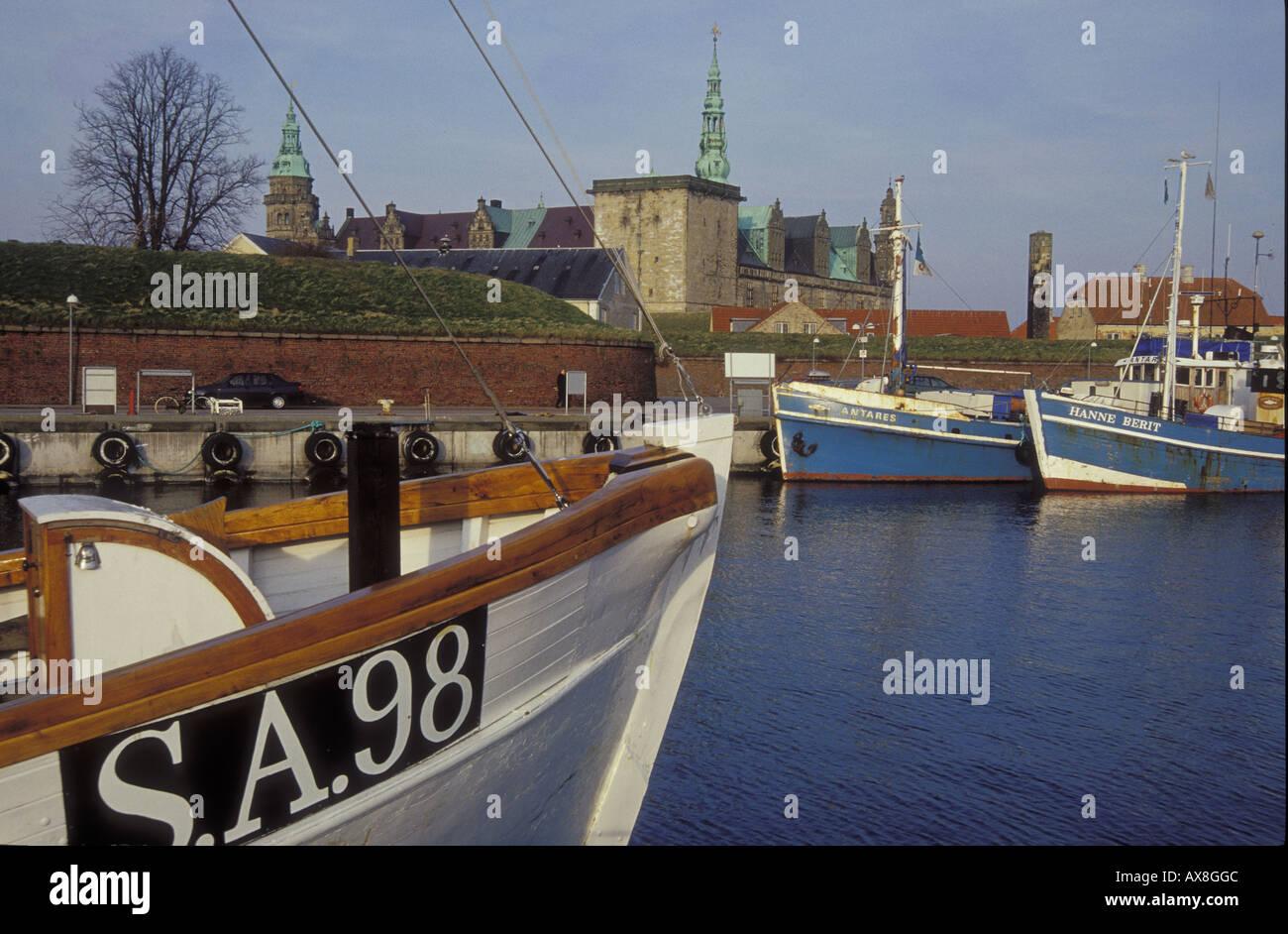 Helsingor Castle, Seeland Denmark - Stock Image